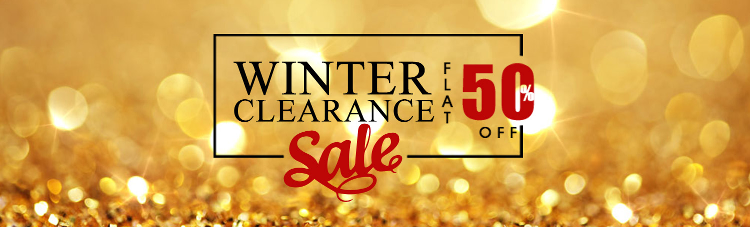 Winter Clearance Flat 50%