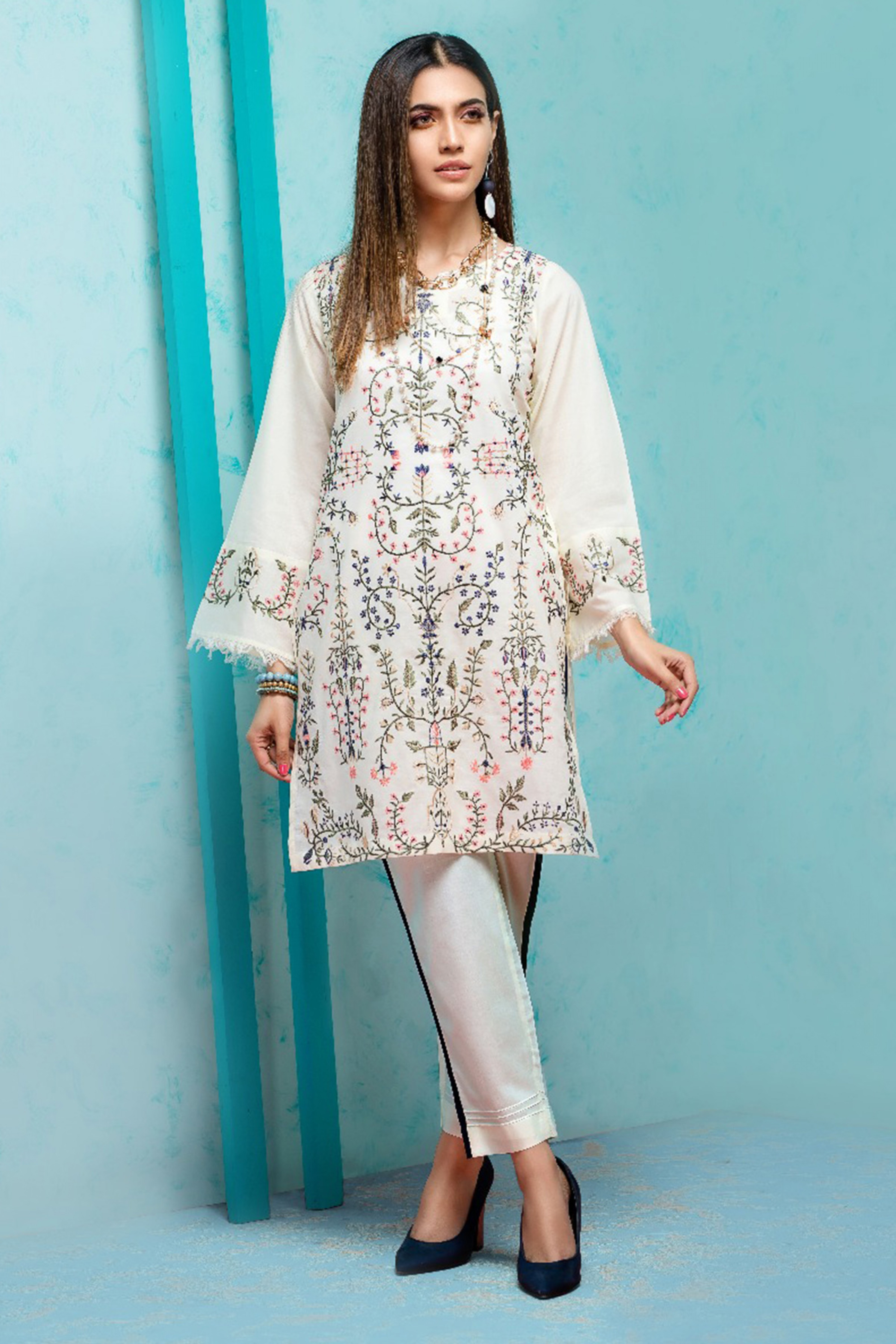Summer Fantasy (Embroidered Shirt & Trouser)