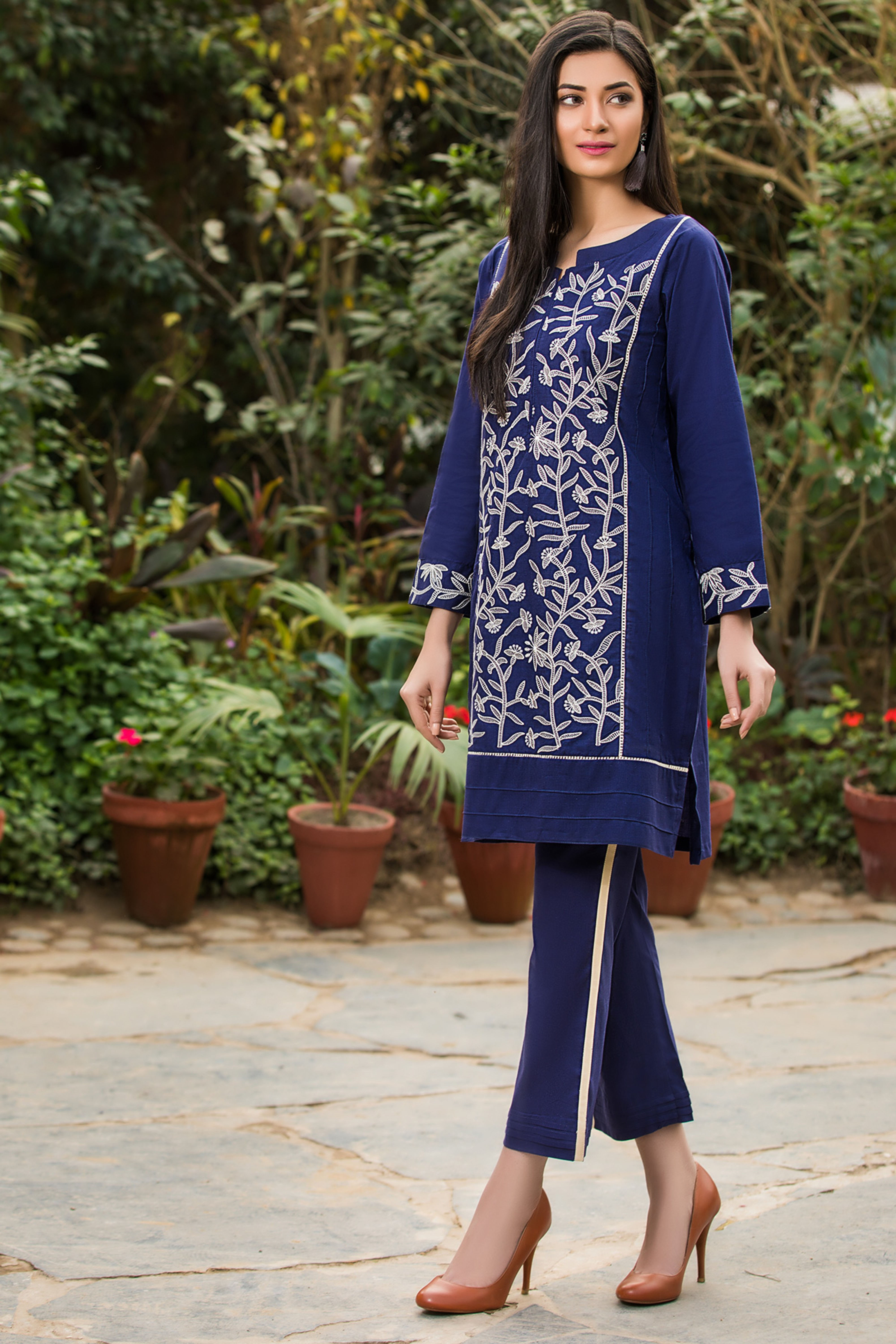 Dazzle ( Embroidered Shirt )