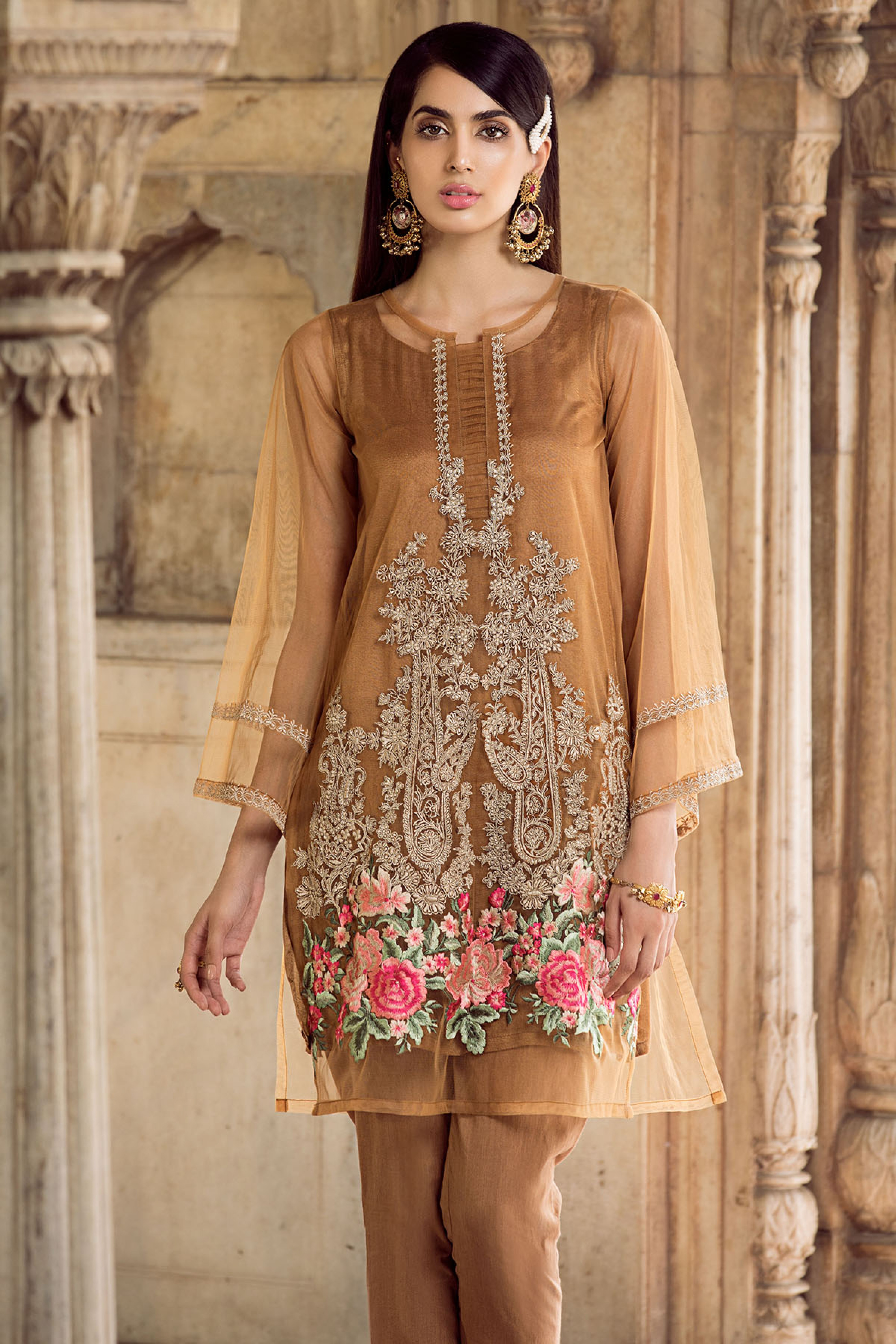 NOOR (EMBROIDERED SHIRT & TROUSER)