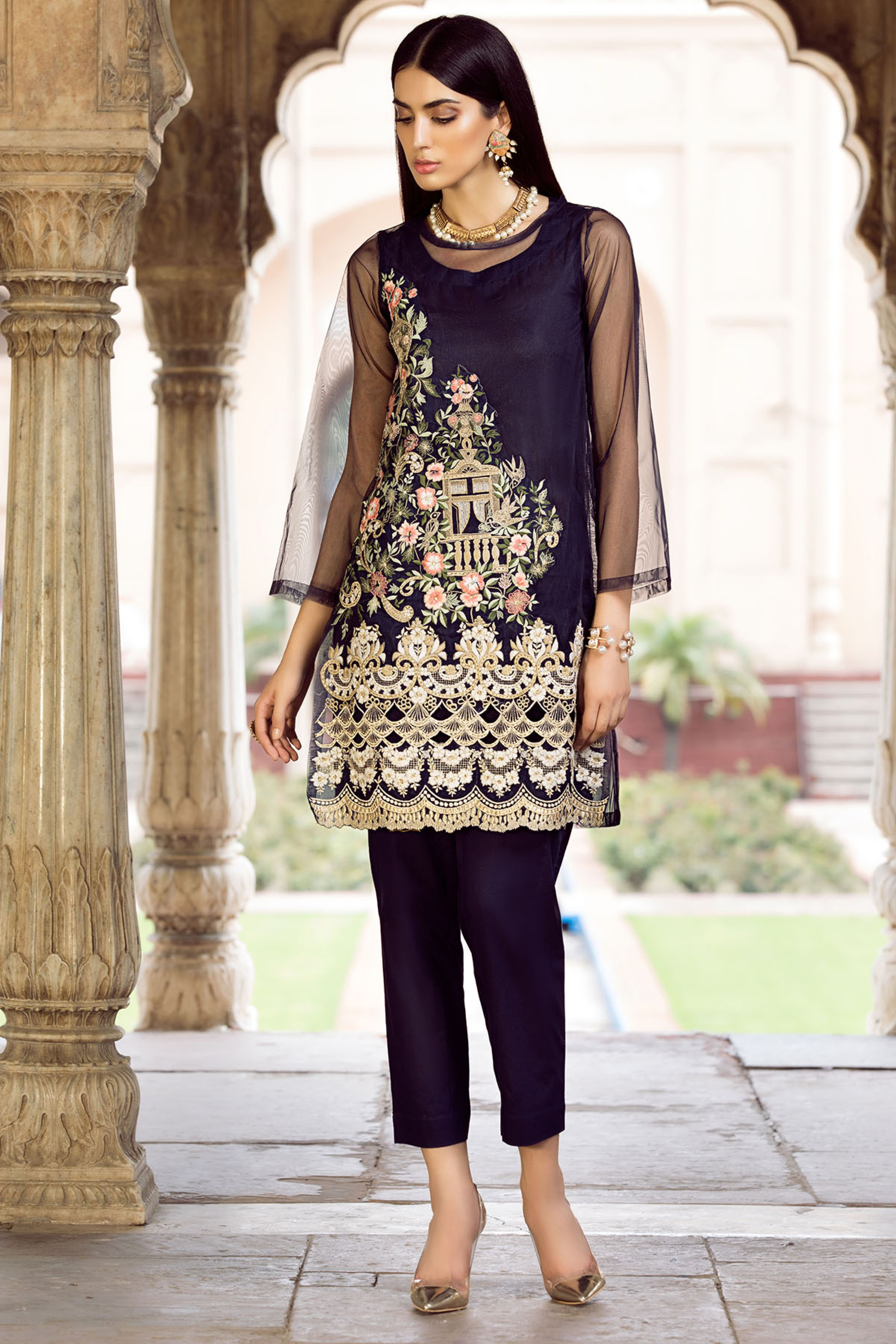 GUL (EMBROIDERED SHIRT & TROUSER)