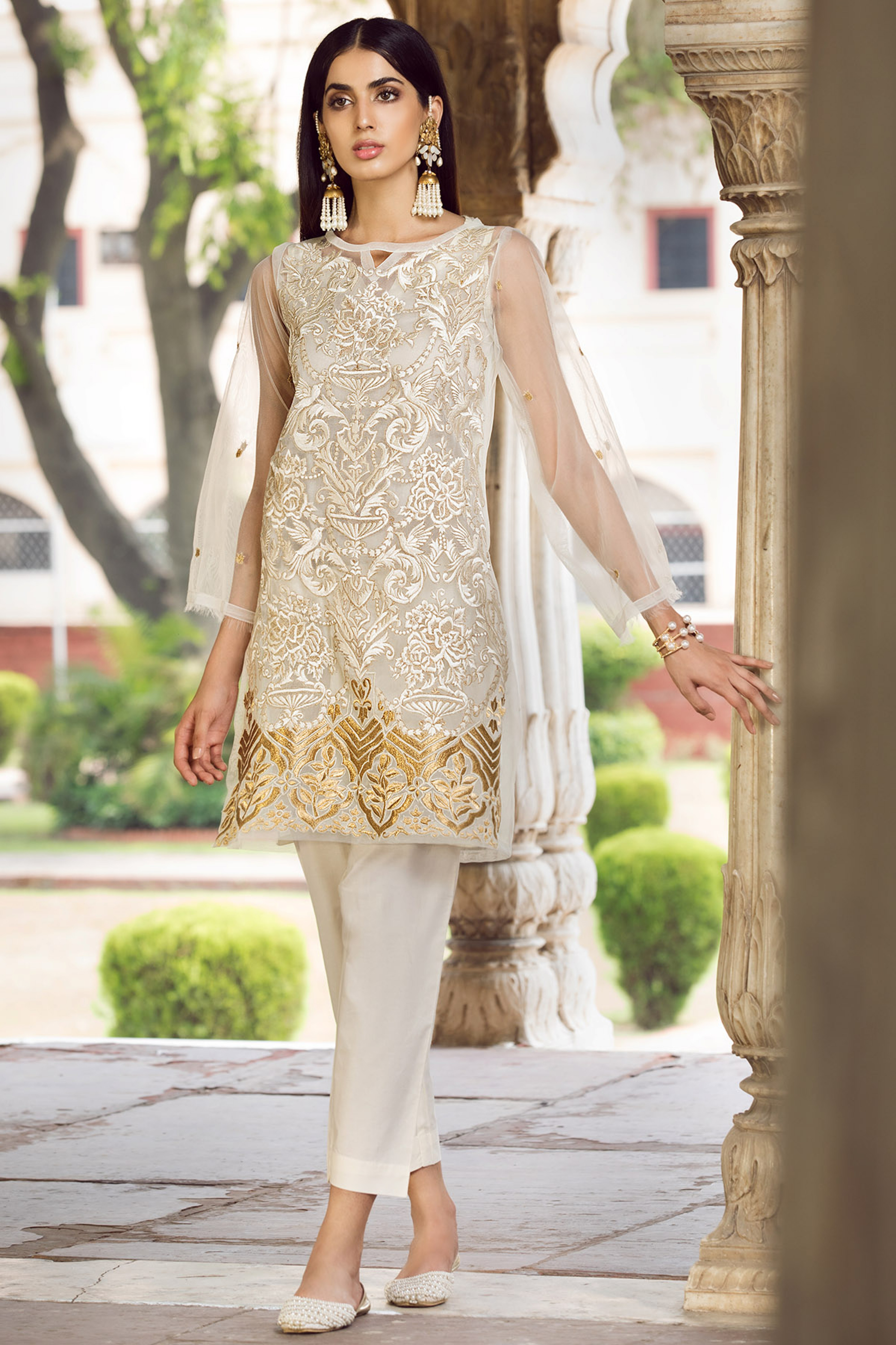 DASHT ( EMBROIDERED SHIRT & TROUSER )
