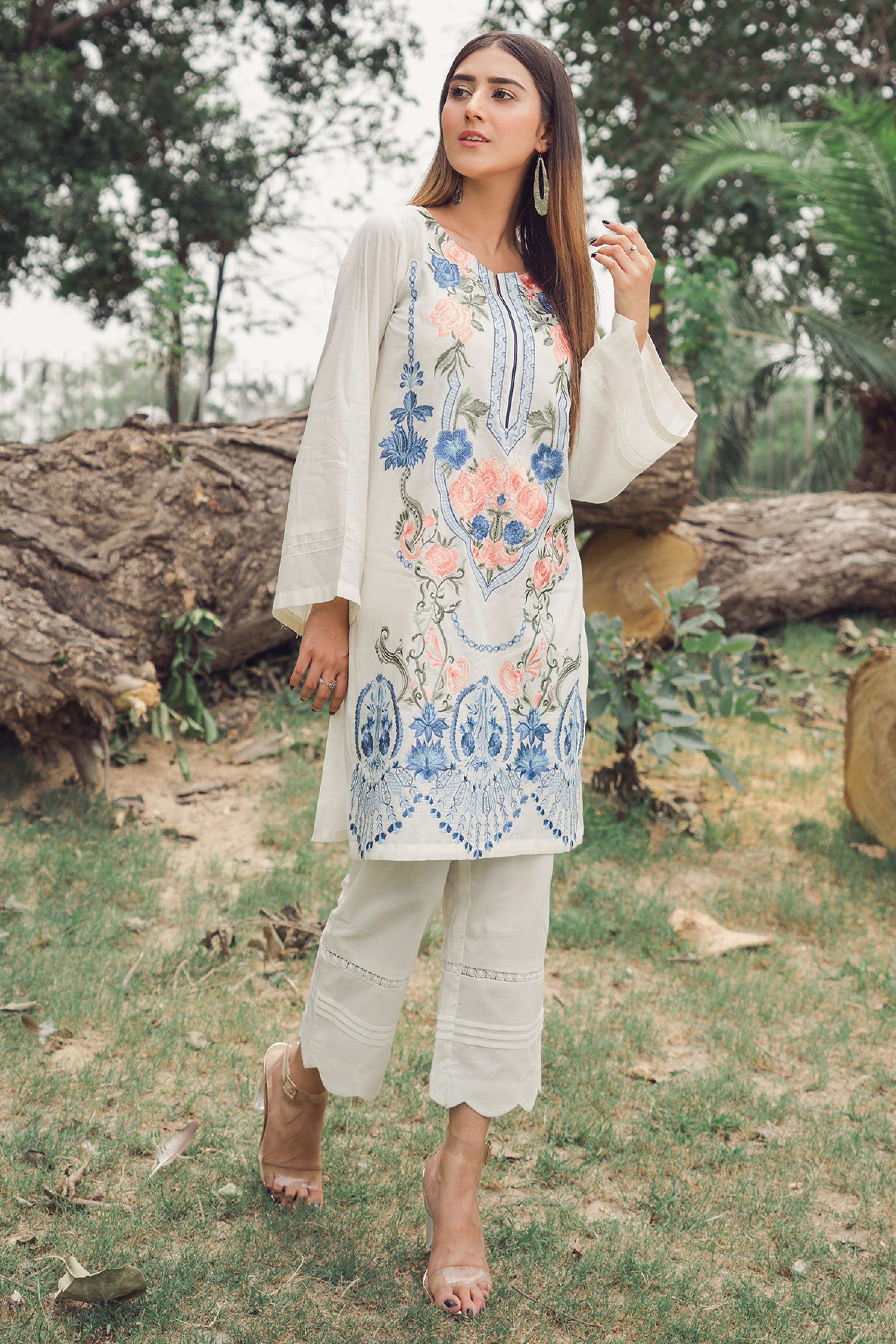 ETHNIC JOURNEY (EMBROIDERED SHIRT)