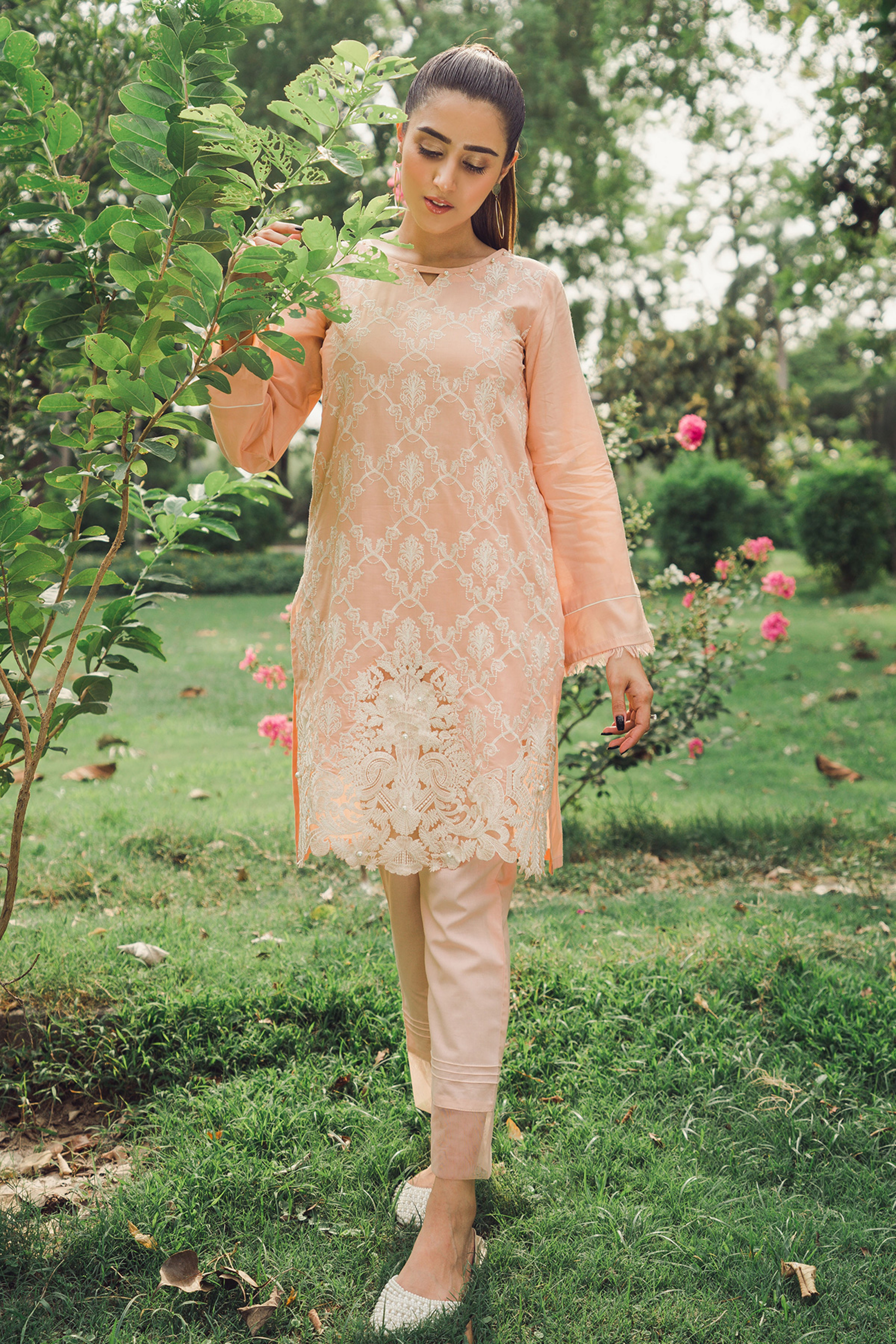 LILY NOVA (EMBROIDERED SHIRT & TROUSER)