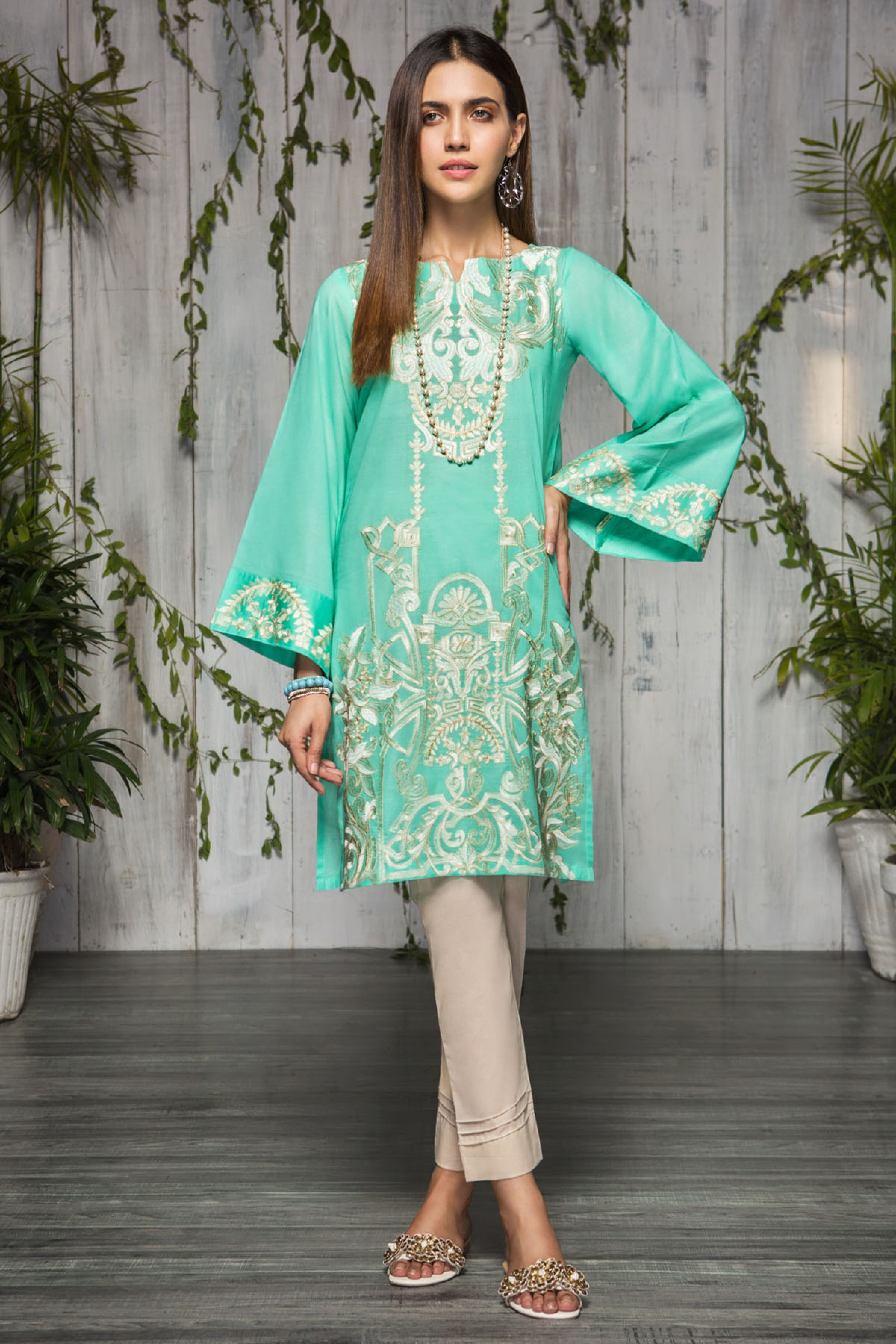 Lush (Embroidered Shirt & Trouser )