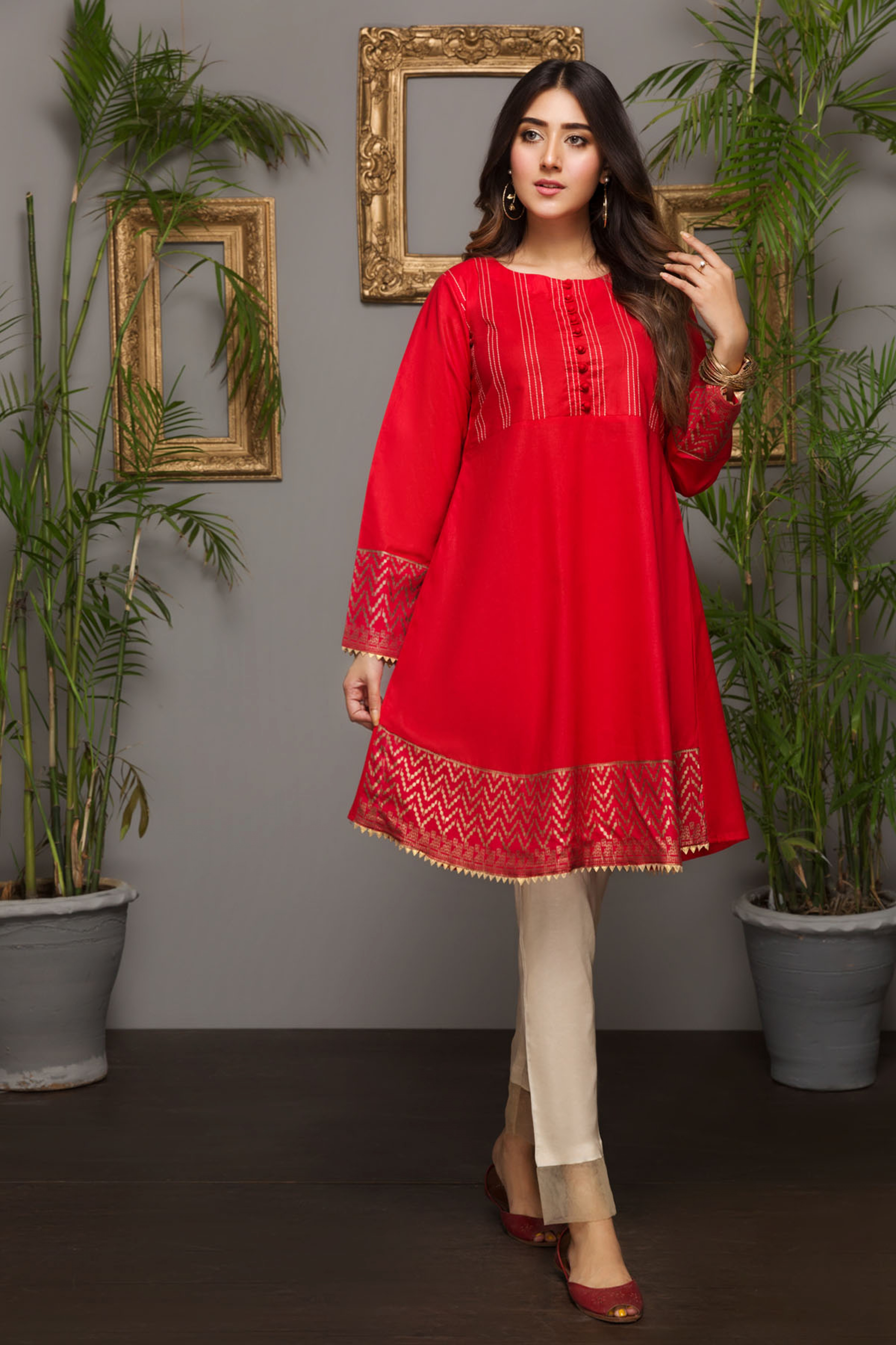 MORNING DEW (EMBROIDERED KURTA)