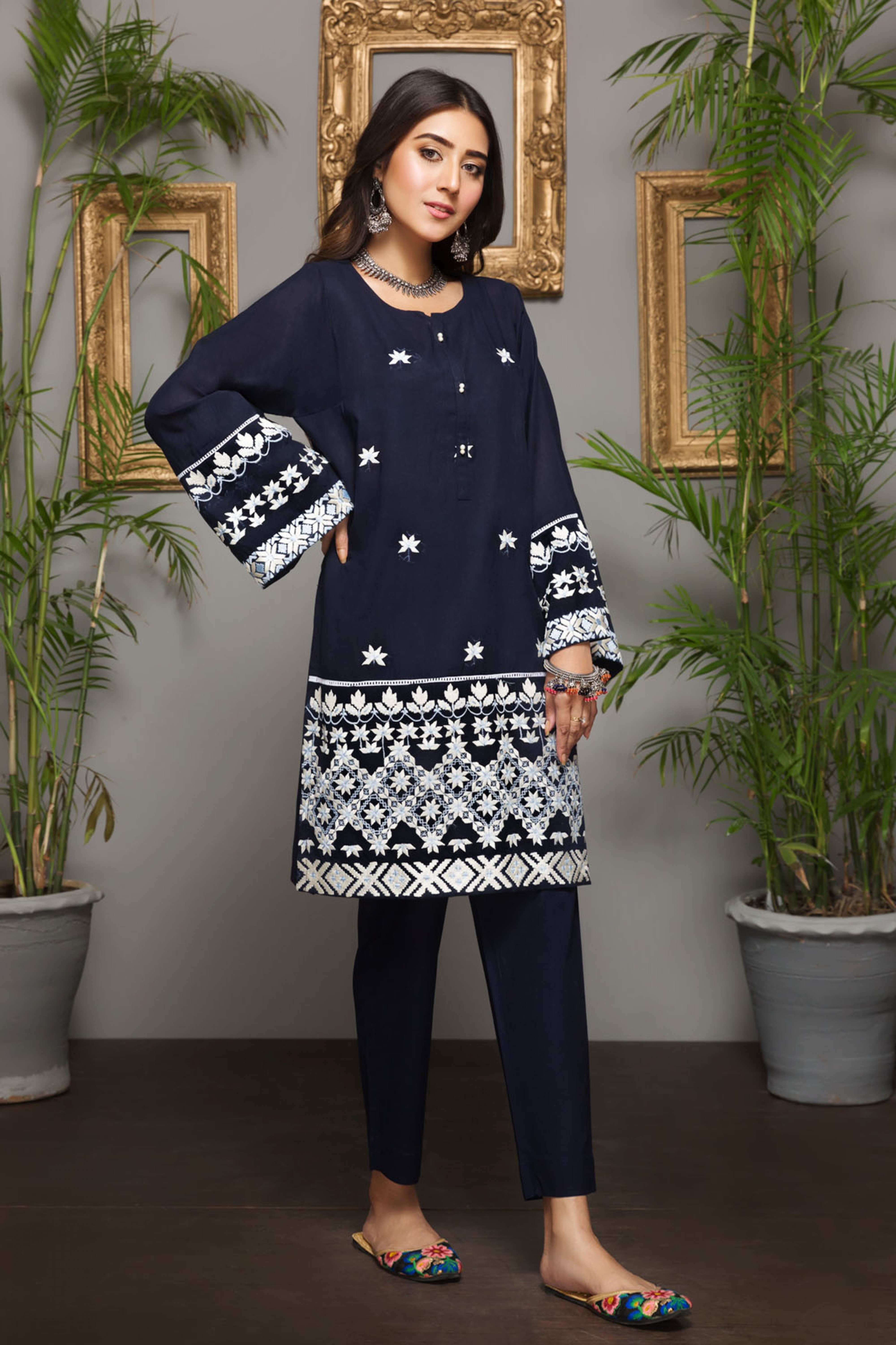 SWAN SONG (EMBROIDERED SHIRT)