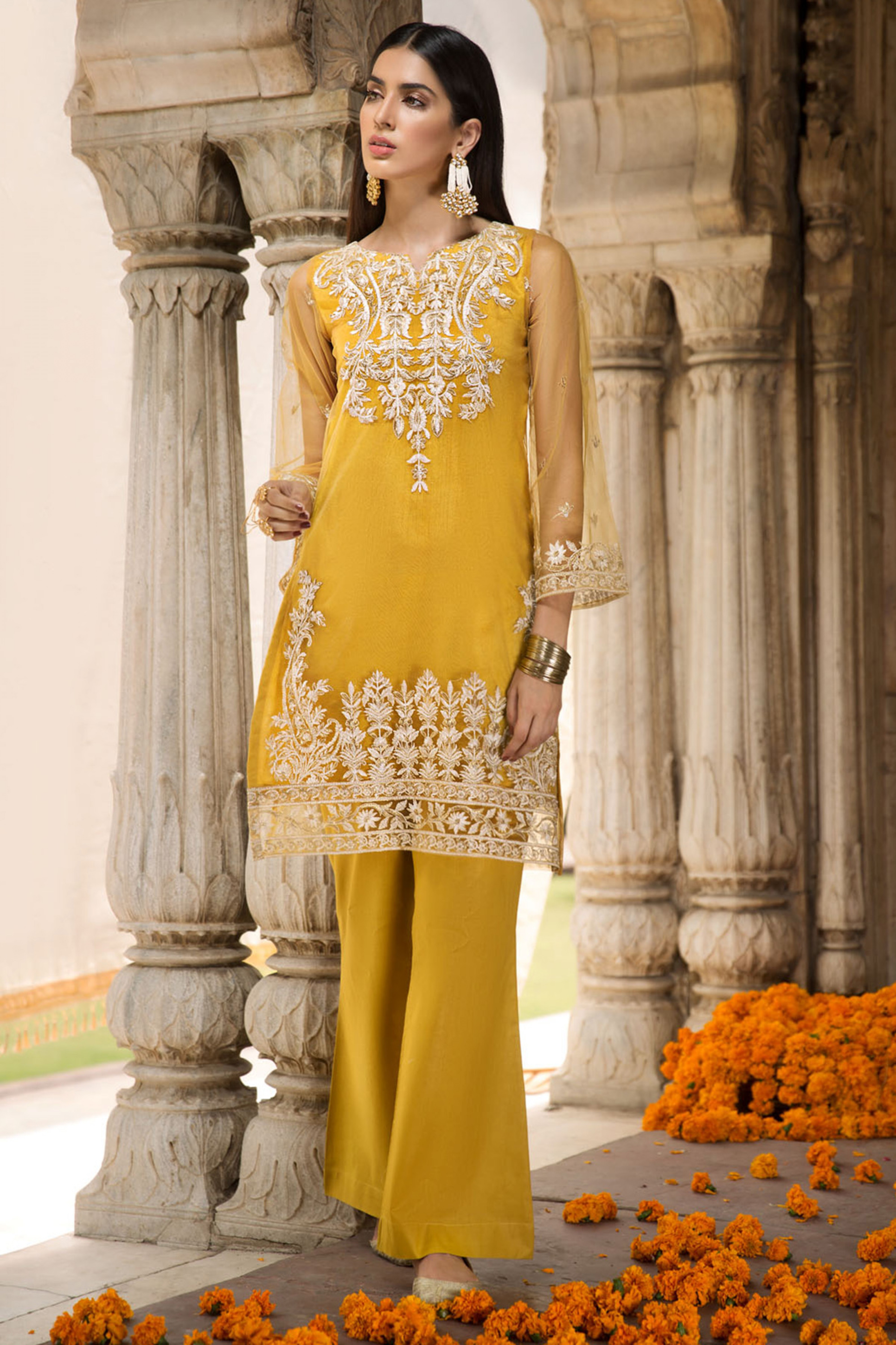 Noor ( EMBROIDERED SHIRT& TROUSER )