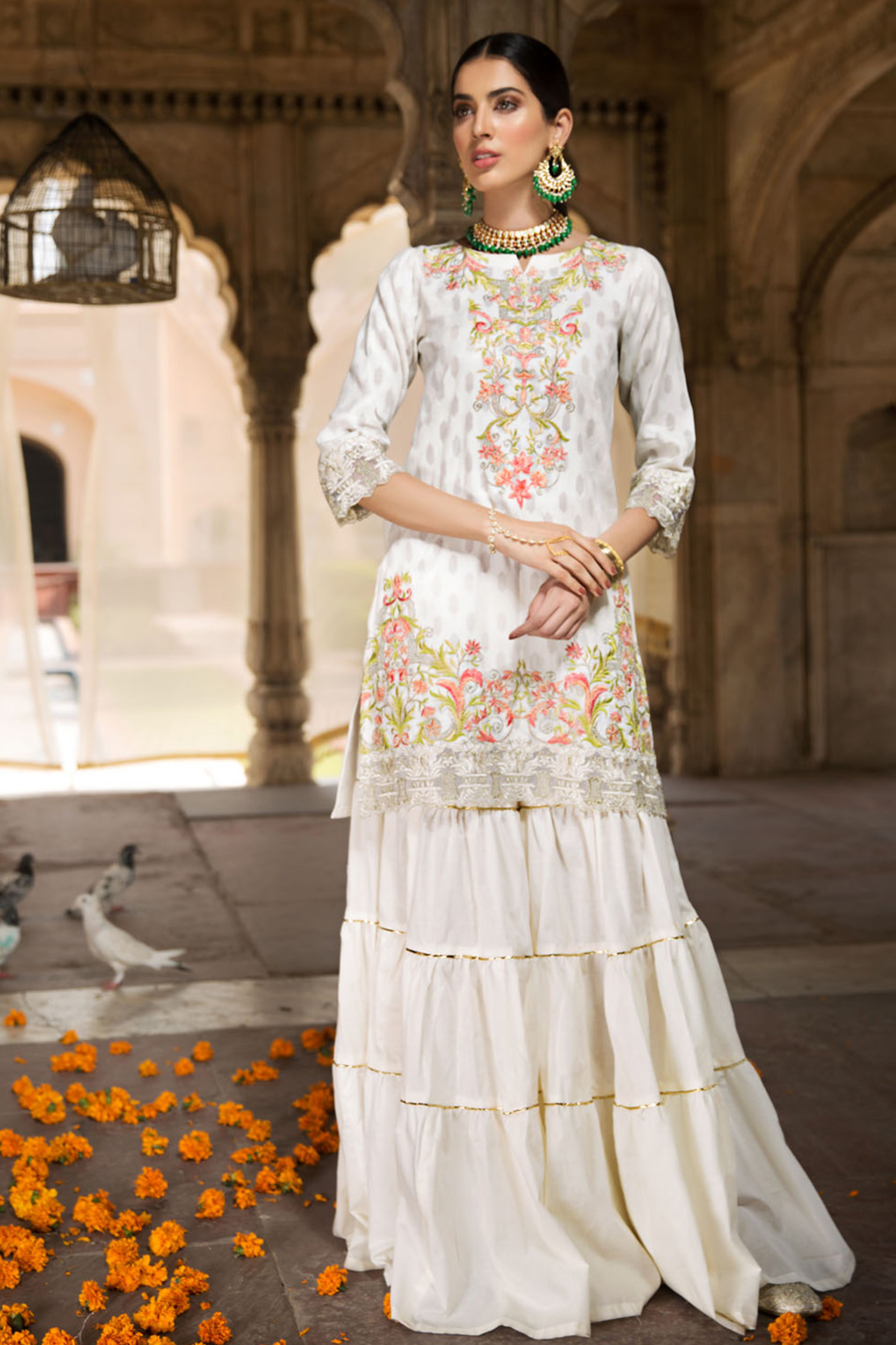 Gul Bahaar ( Embroidered Shirt)
