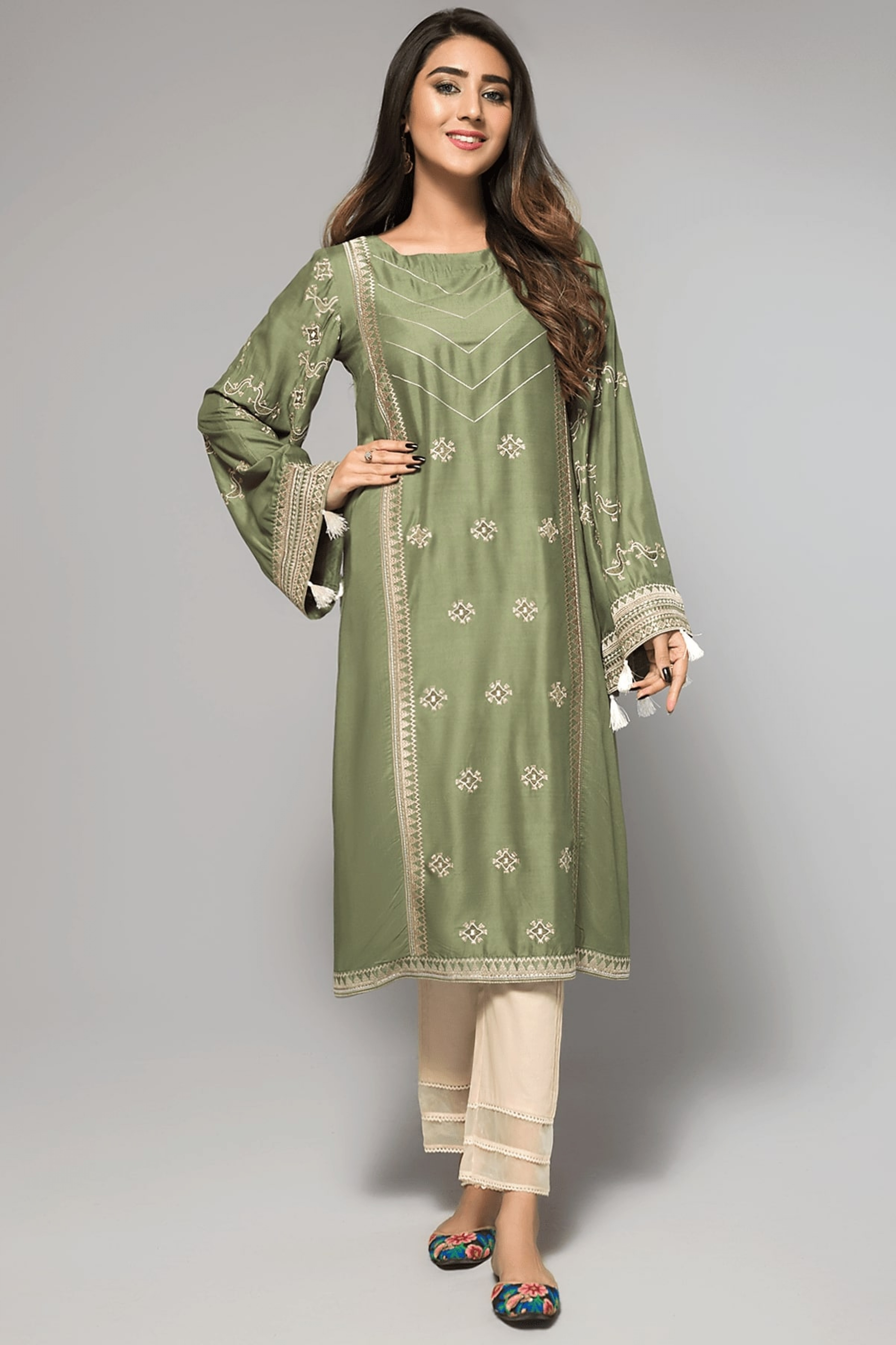 AMAZING GRACE(Embroidered Frock)