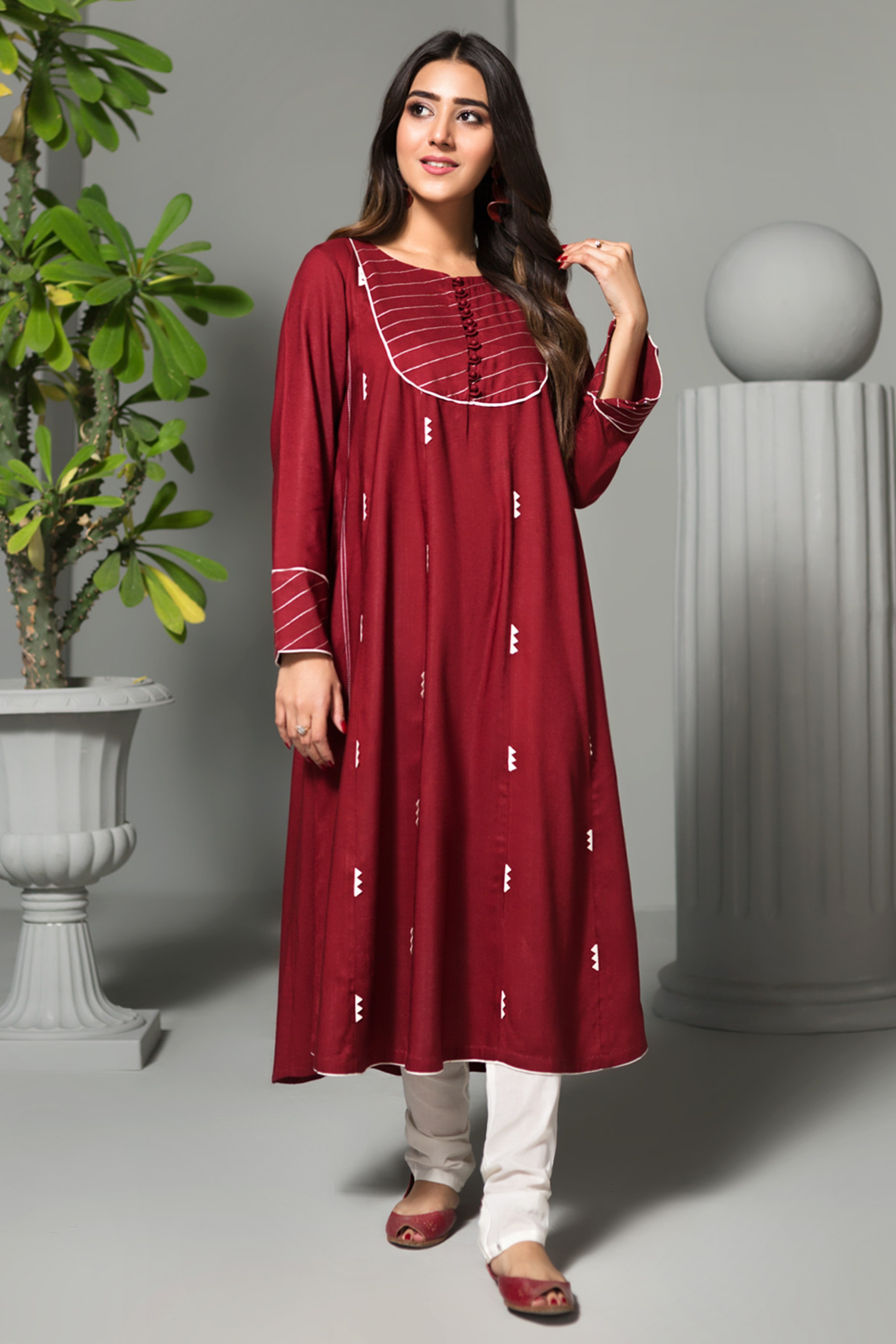 Pinar(Embroidered Frock)