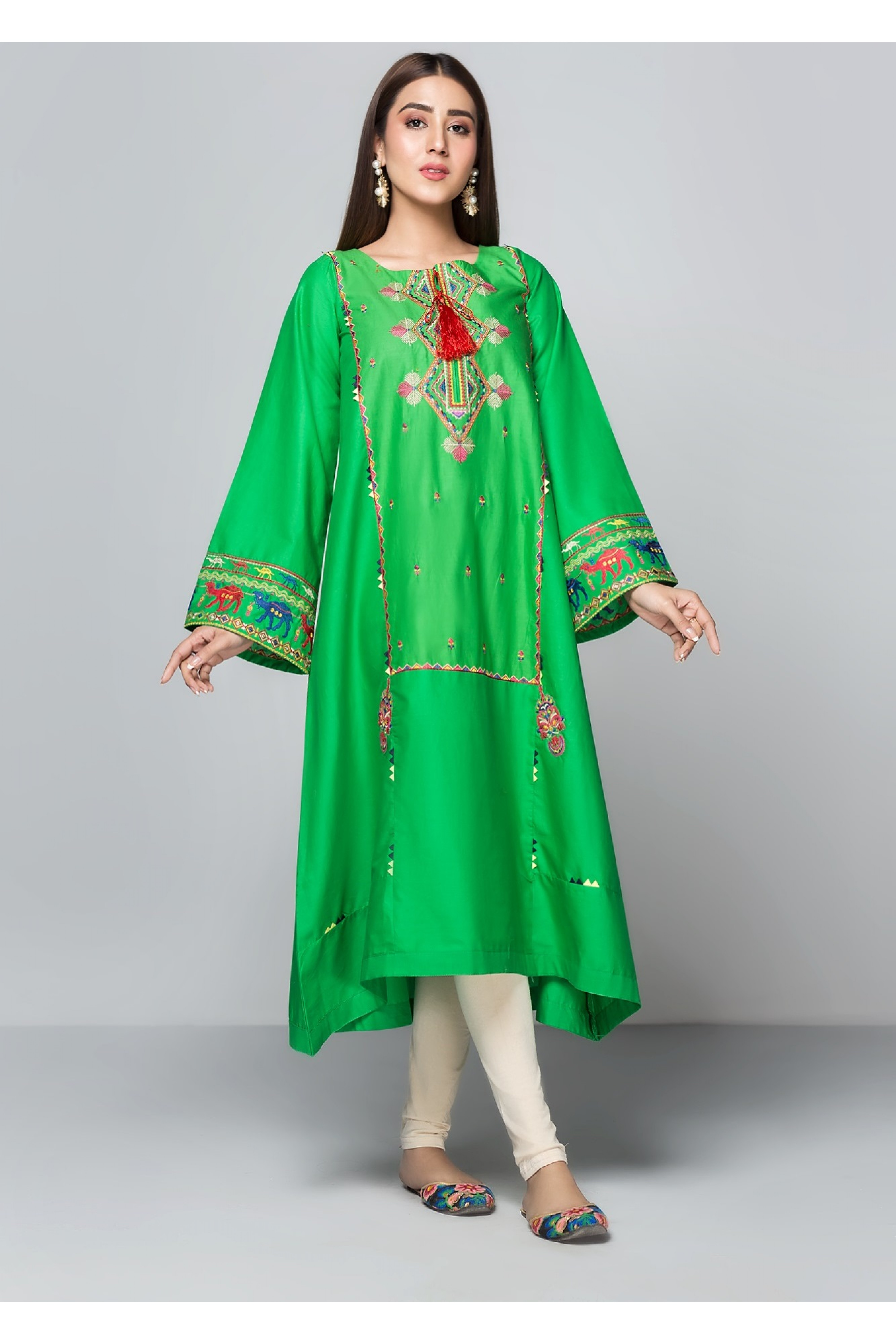 ISLAND(Embroidered Frock)