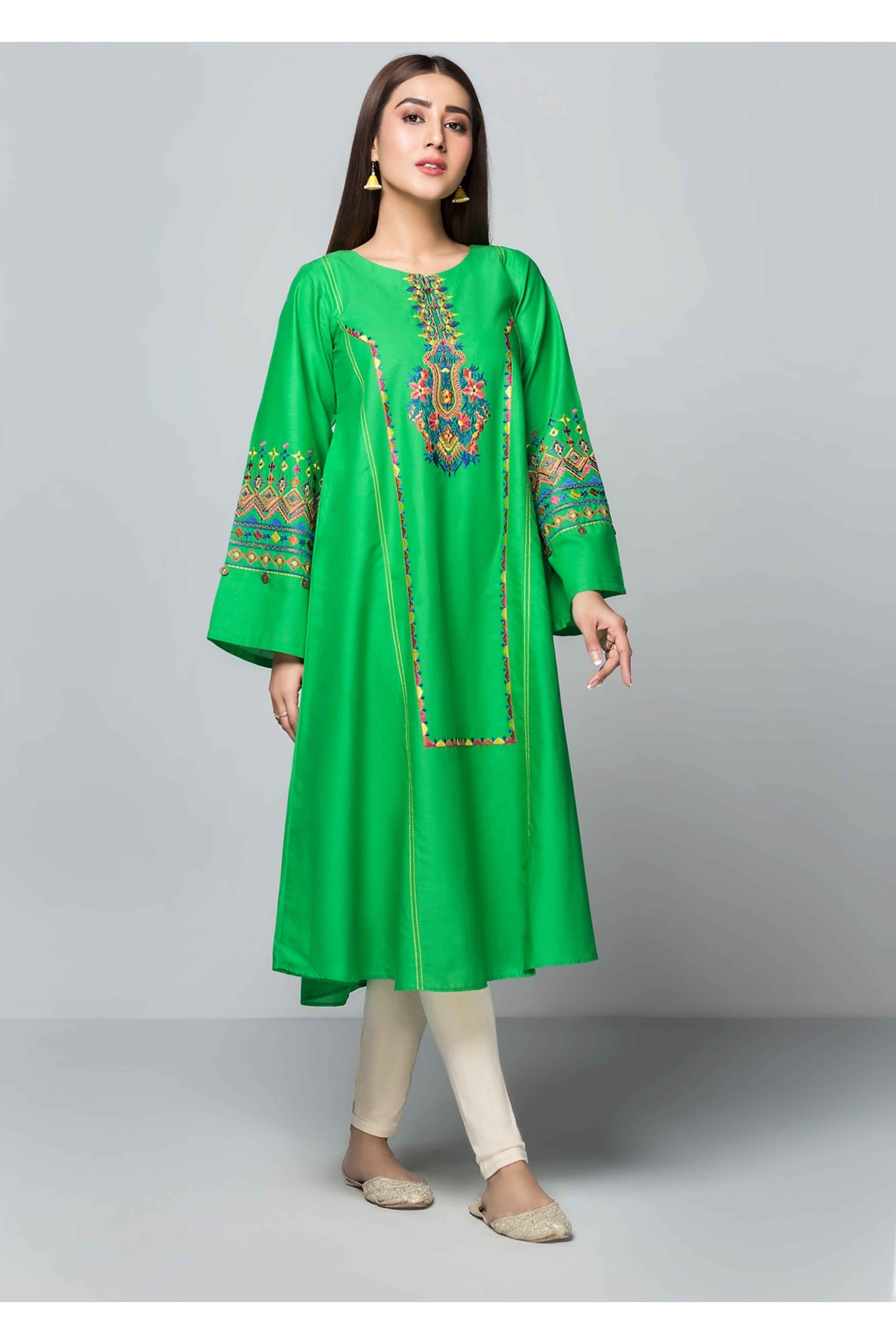 MARSH(Embroidered Frock)