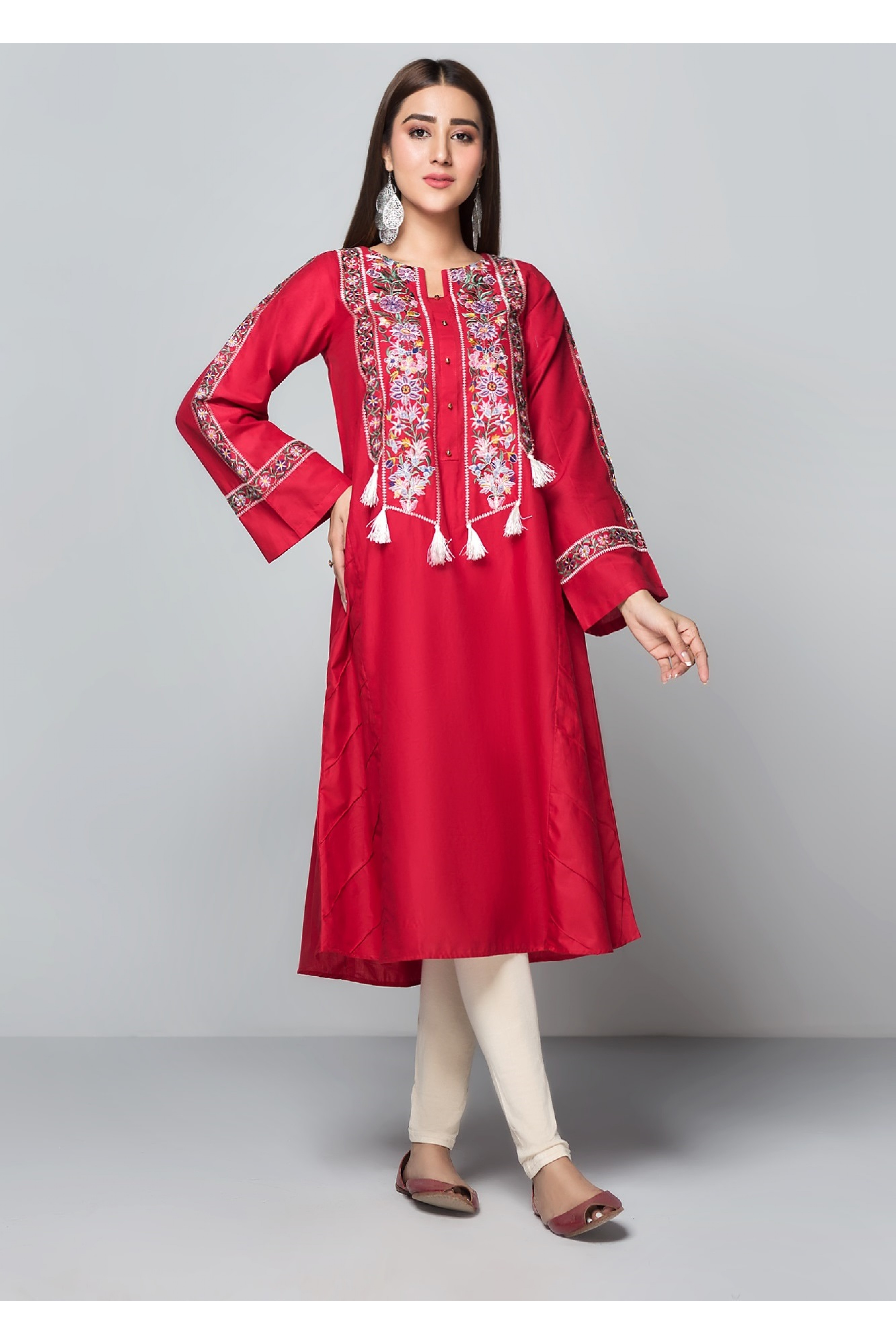 CREEK(Embroidered Frock)