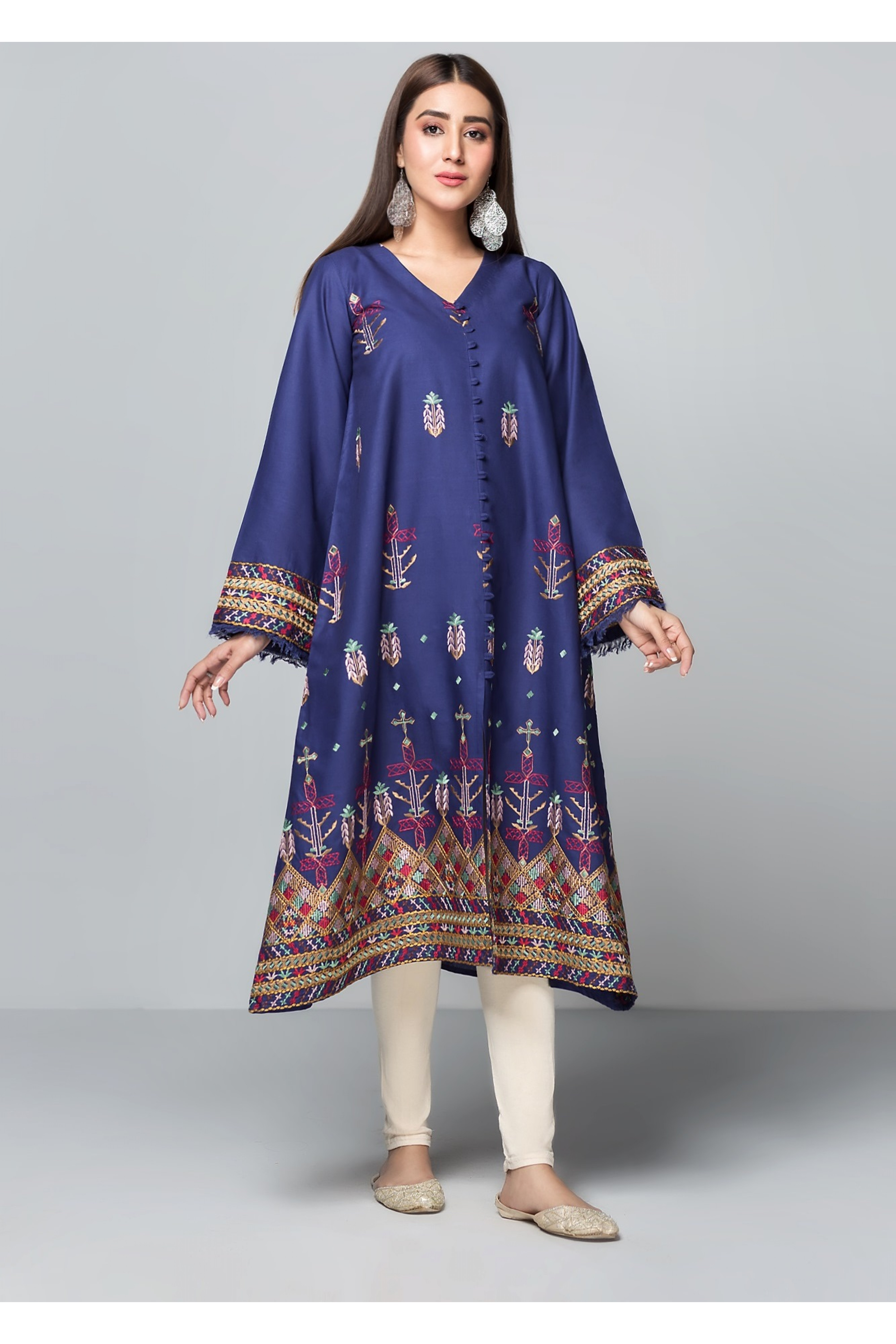 AMAZON(Embroidered Frock)