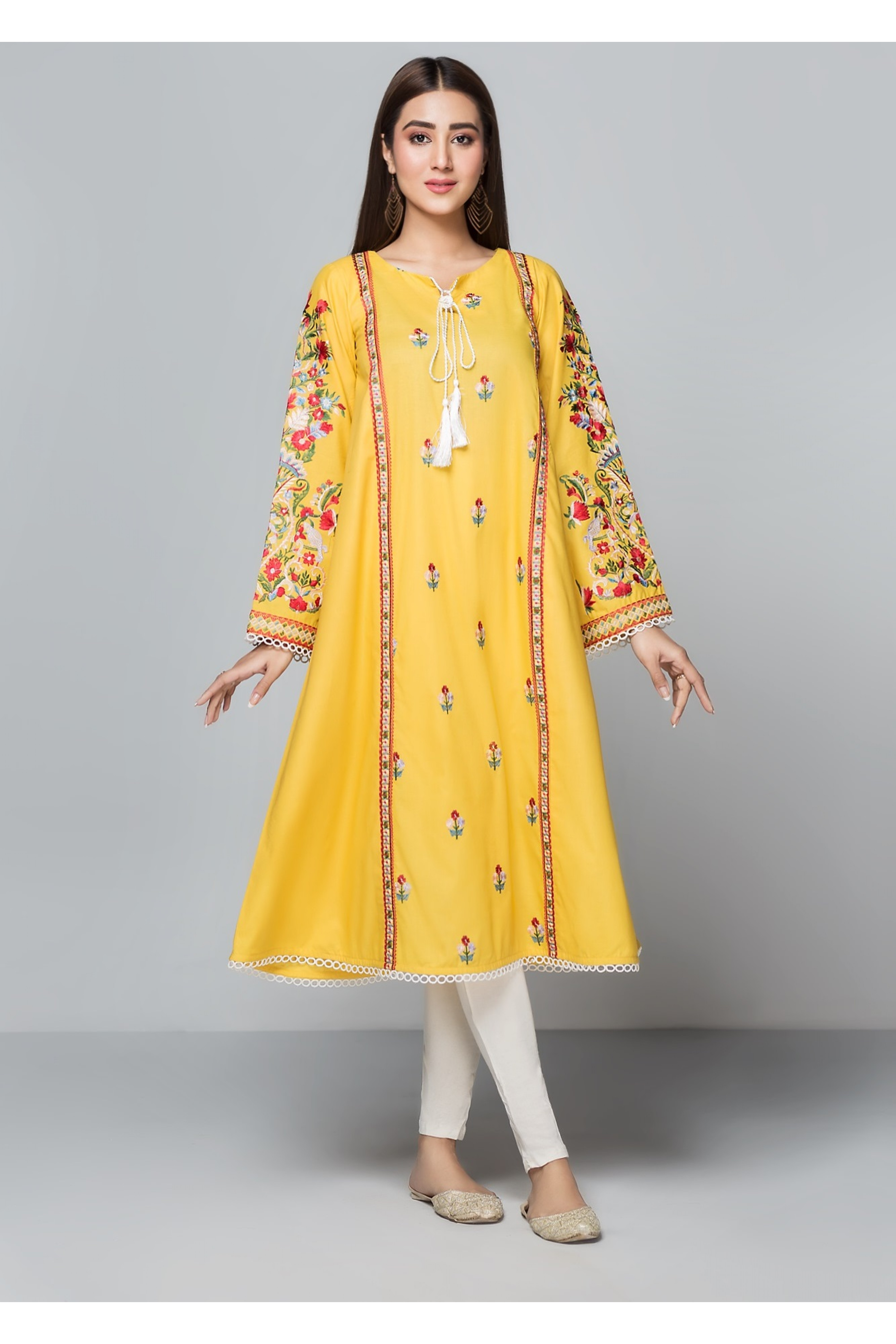 LAGOON(Embroidered Frock)