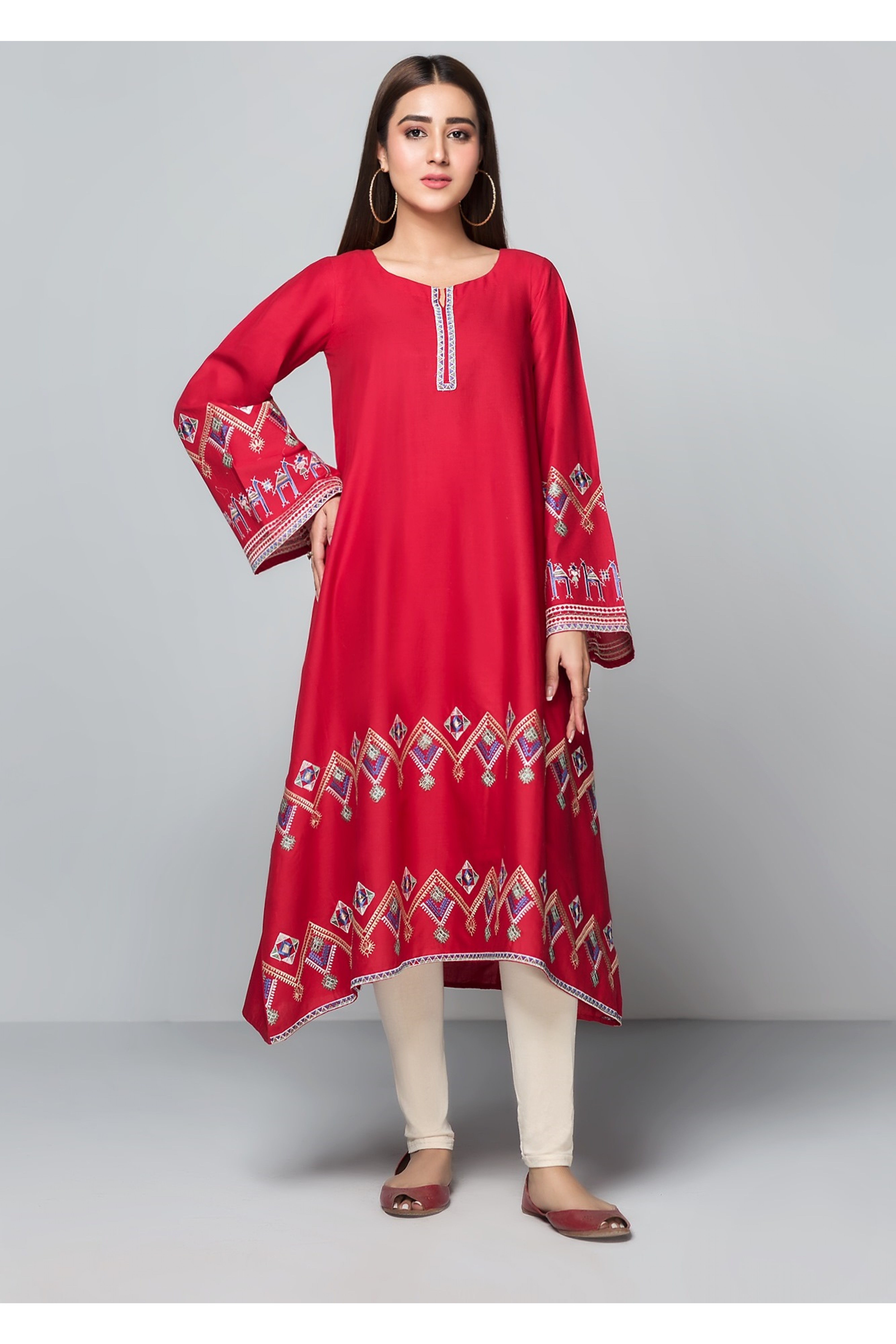 GULF(Embroidered Frock)