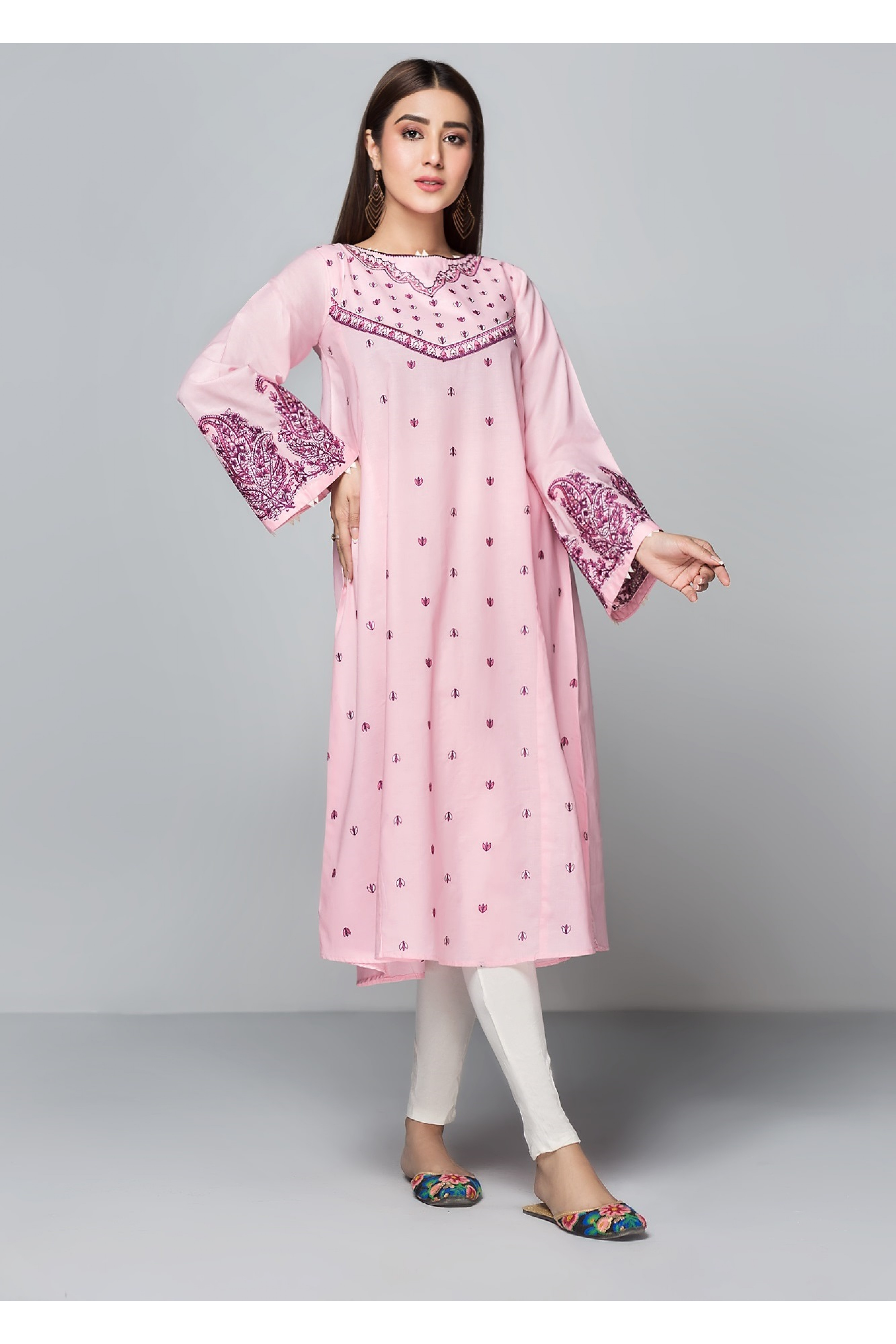 STREAM(Embroidered Frock)