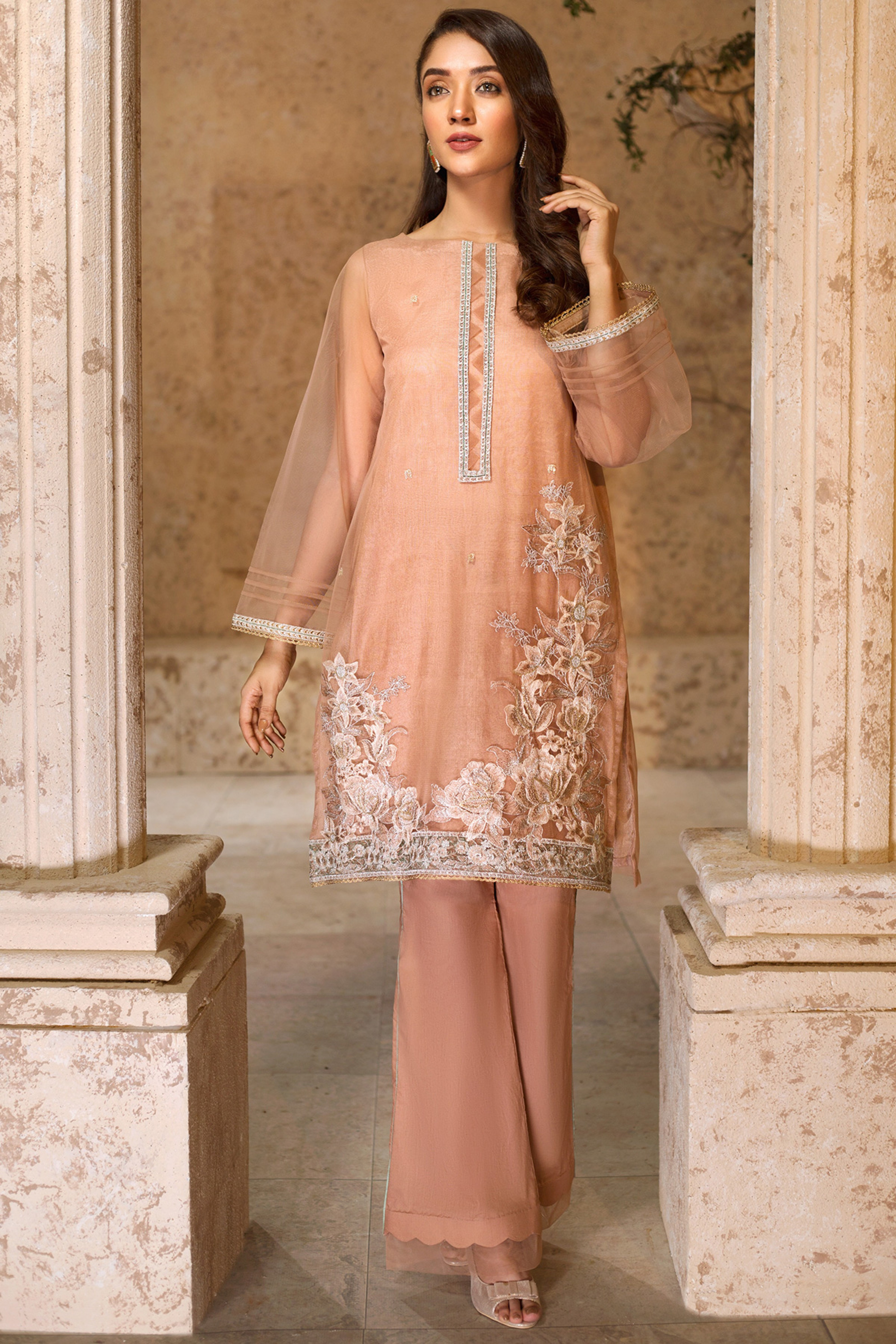 MEHAR(Embroidered Shirt )