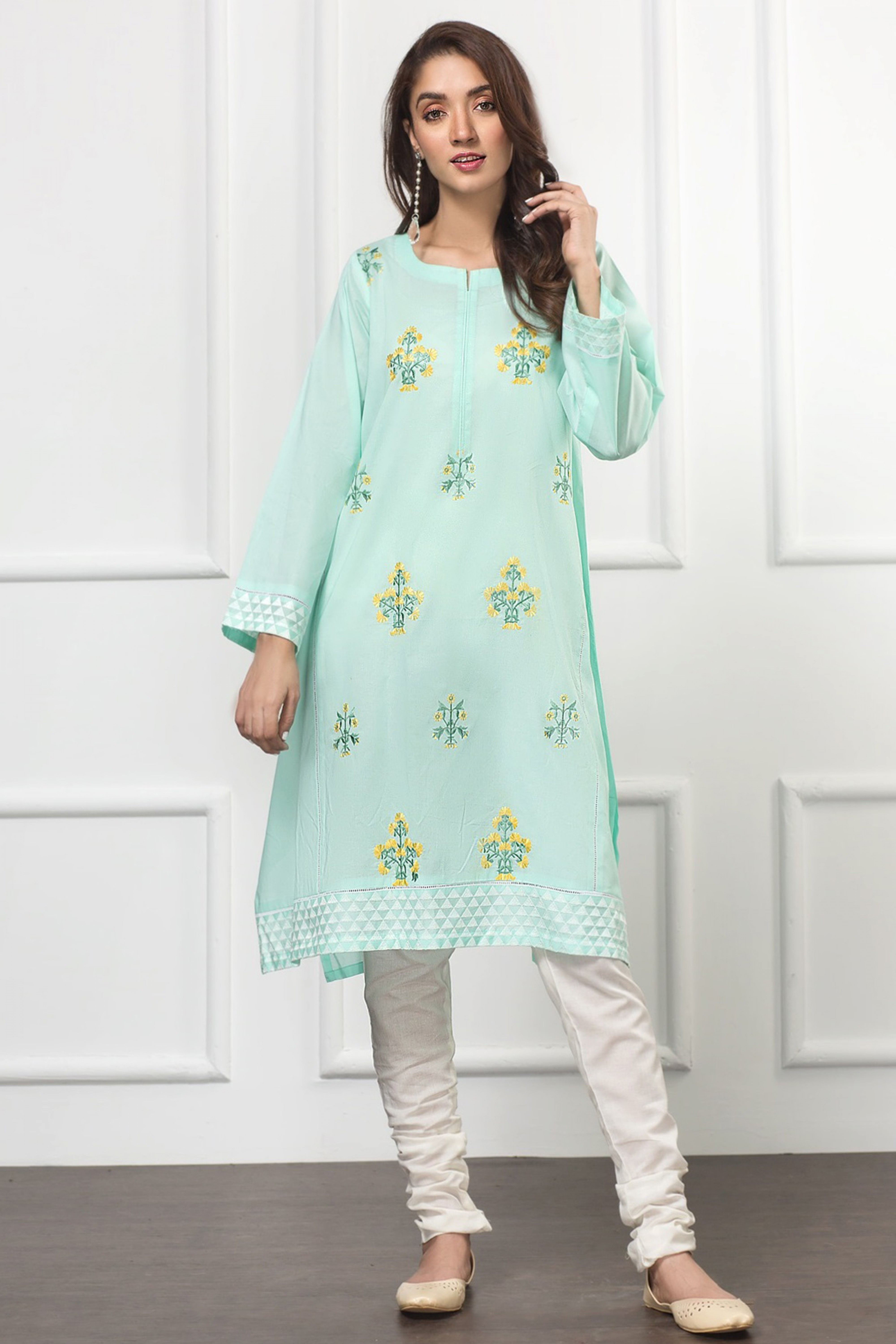 TIFFANY(Embroidered Frock)