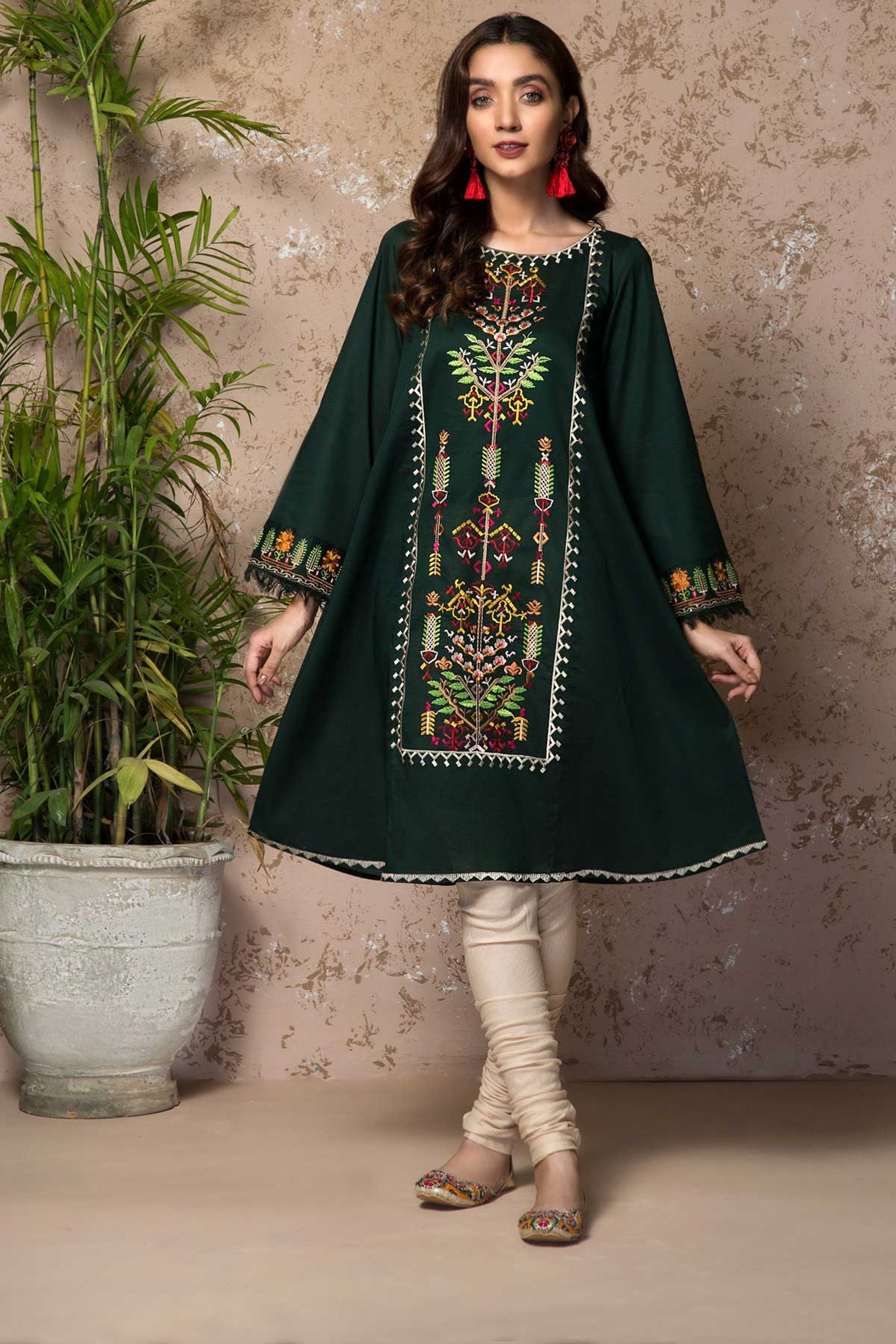 LUSH (Embroidered Frock)