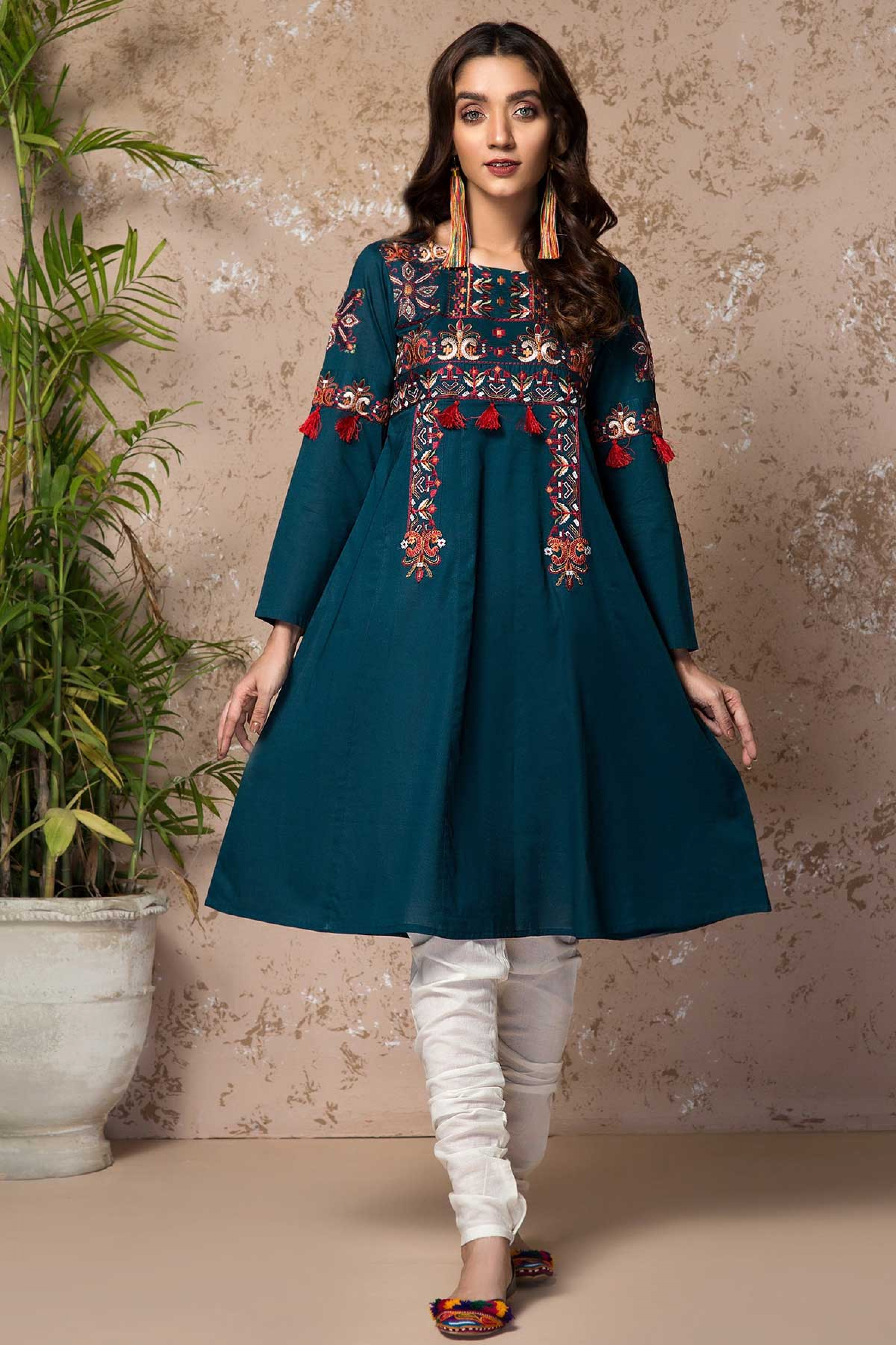 BERRY FROST (Embroidered Frock)
