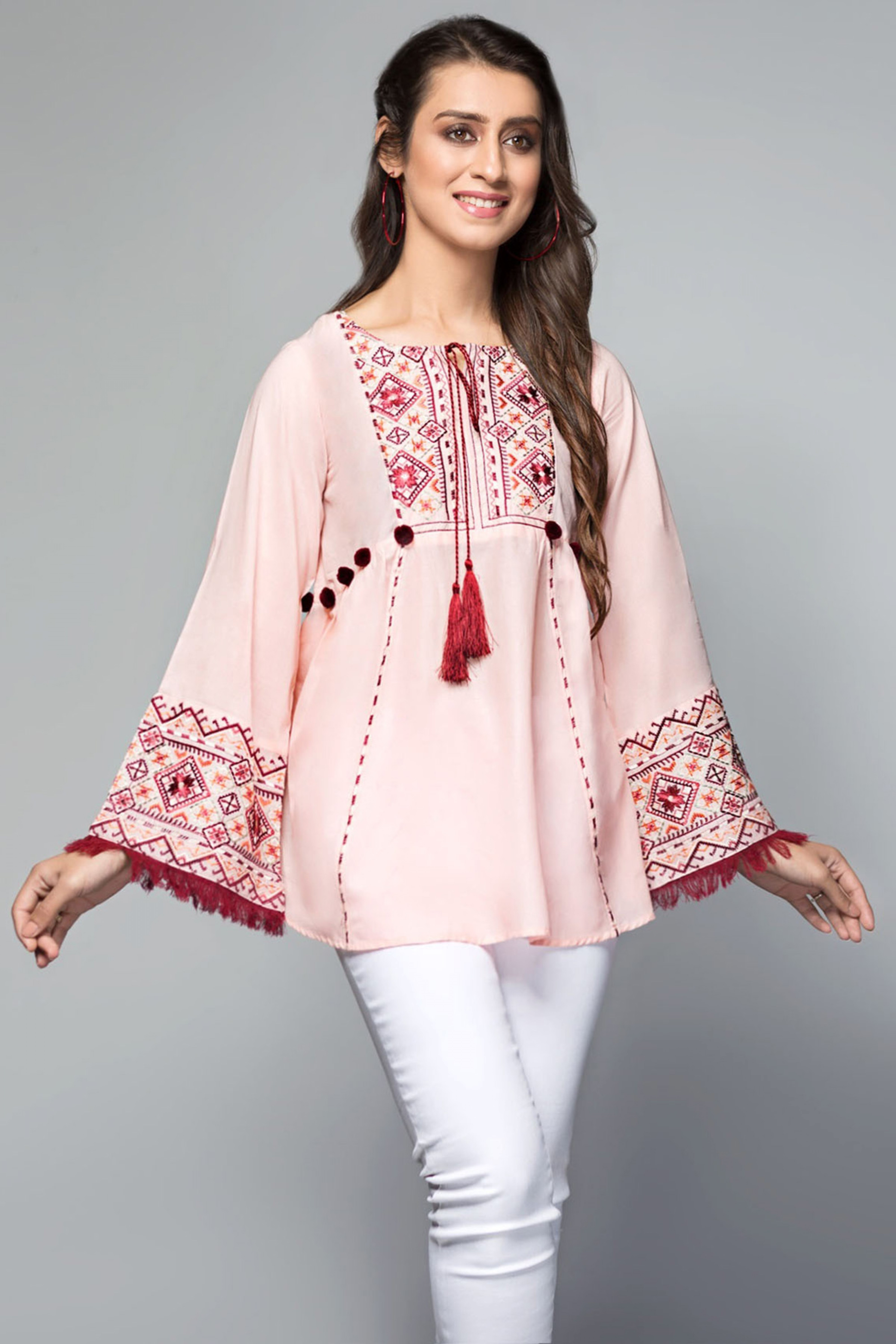 RUBY(Embroidered Top)