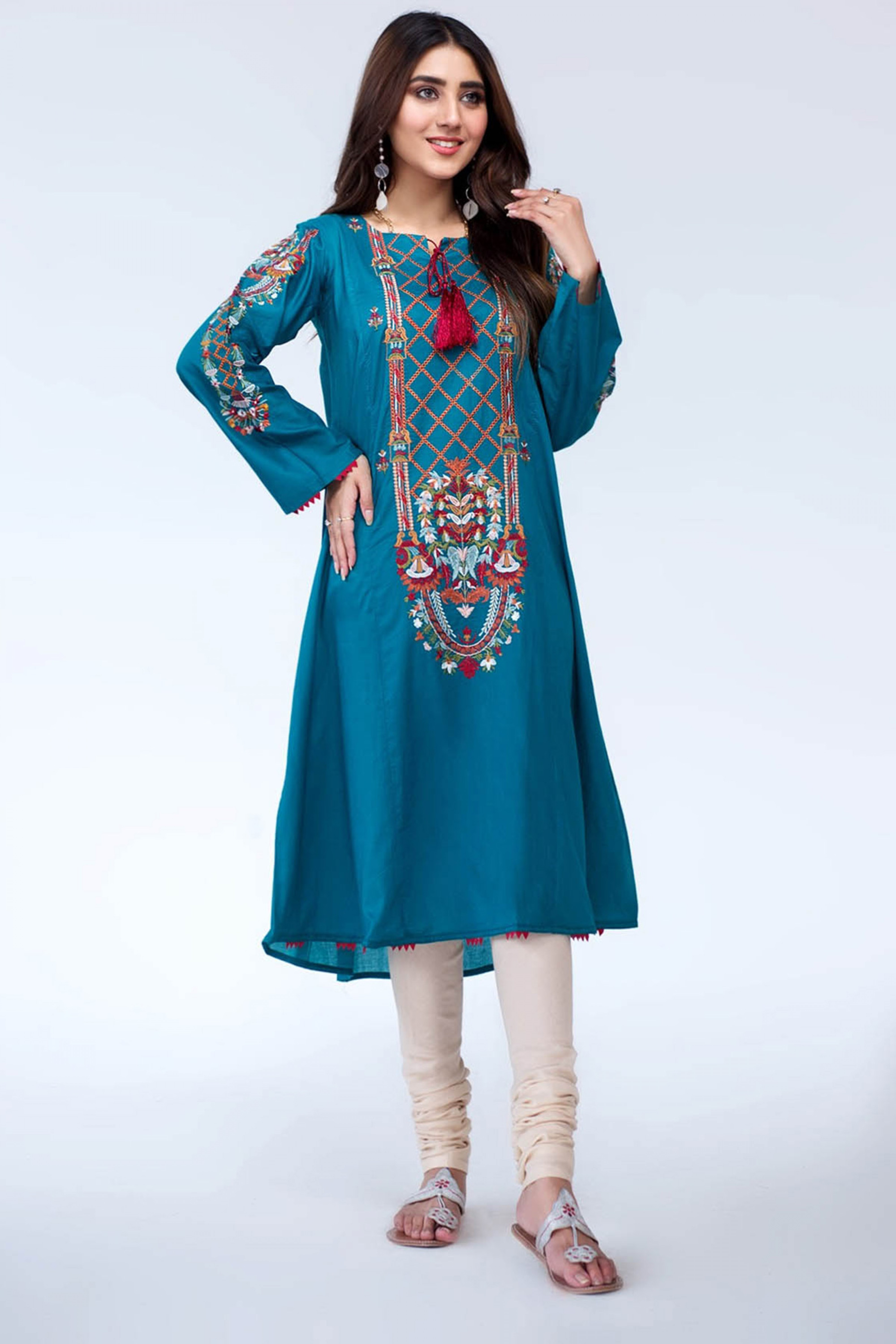 ROCHELLE(Embroidered Frock)