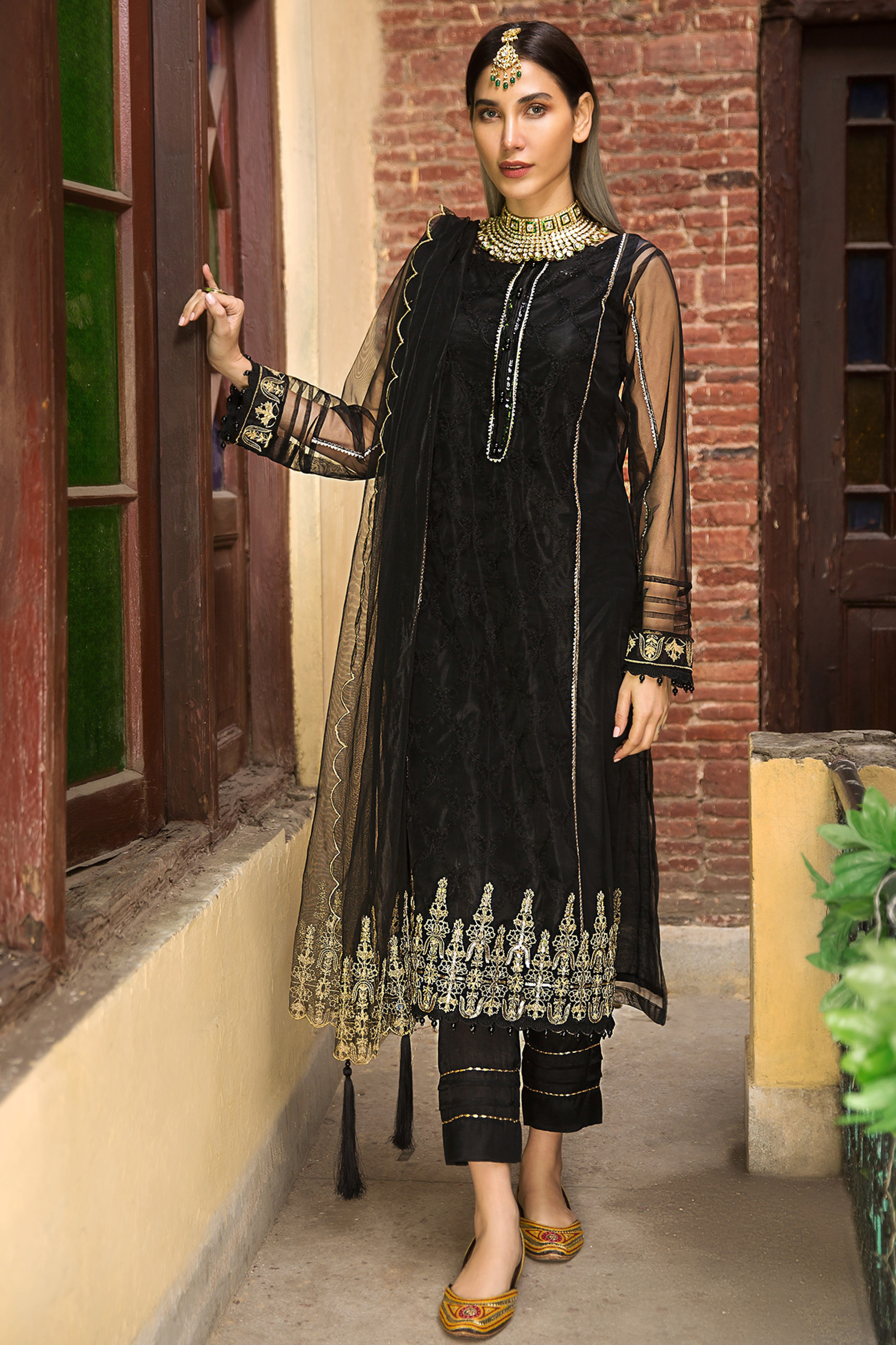 AARSH(Embroidered Shirt & Dupatta)