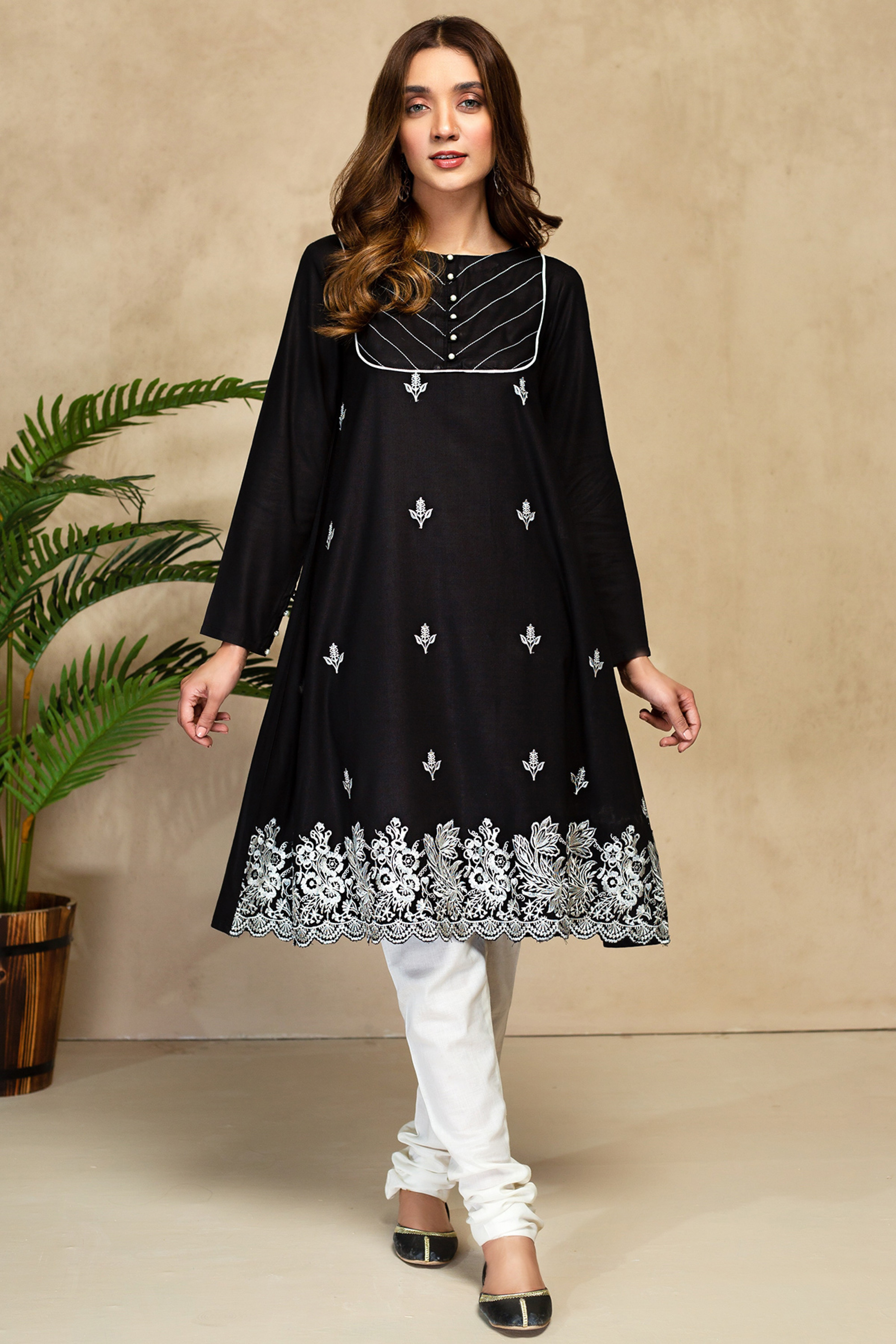 APACHE TEAR(Embroidered Frock)