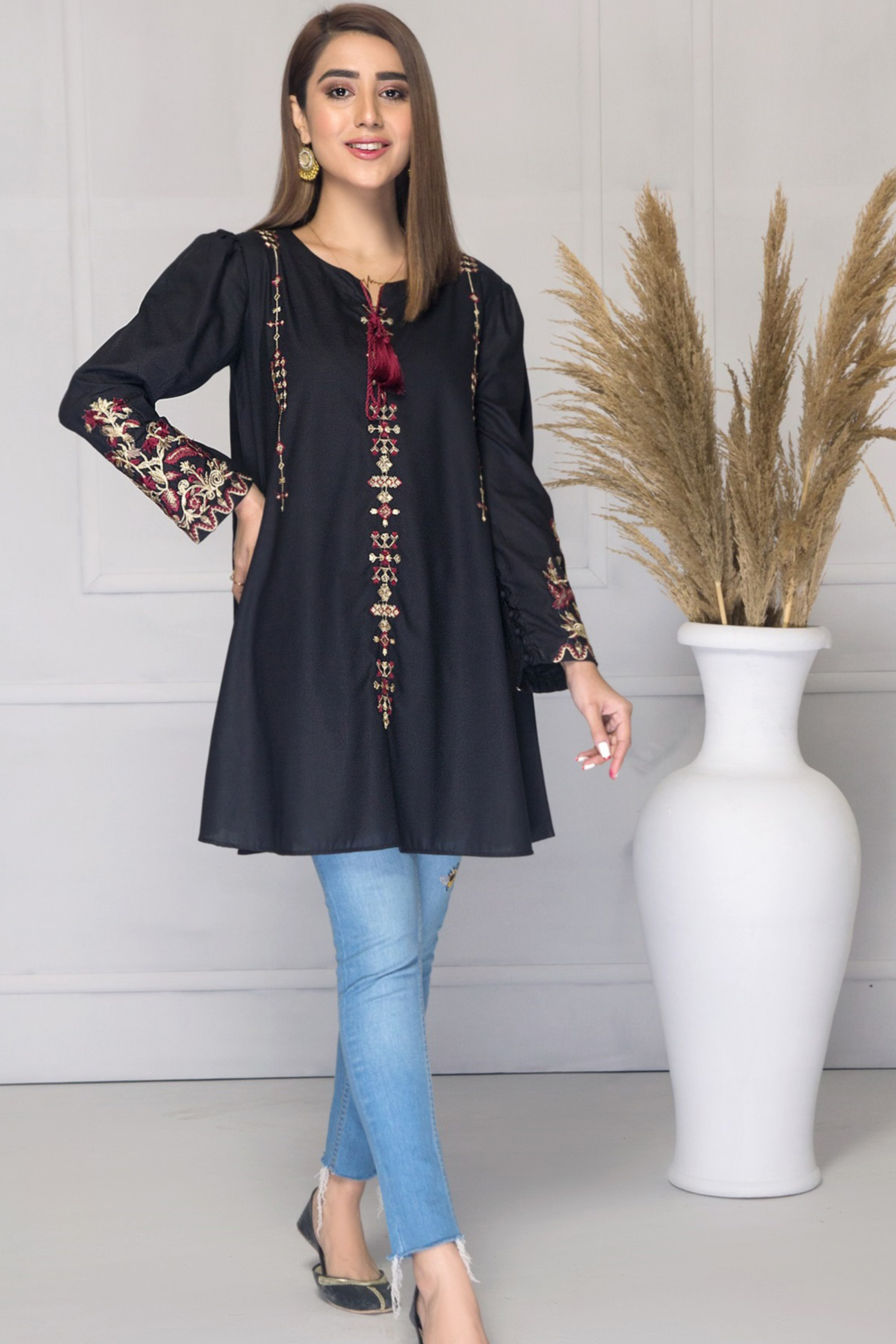 CARMELA(Embroidered Kurta)