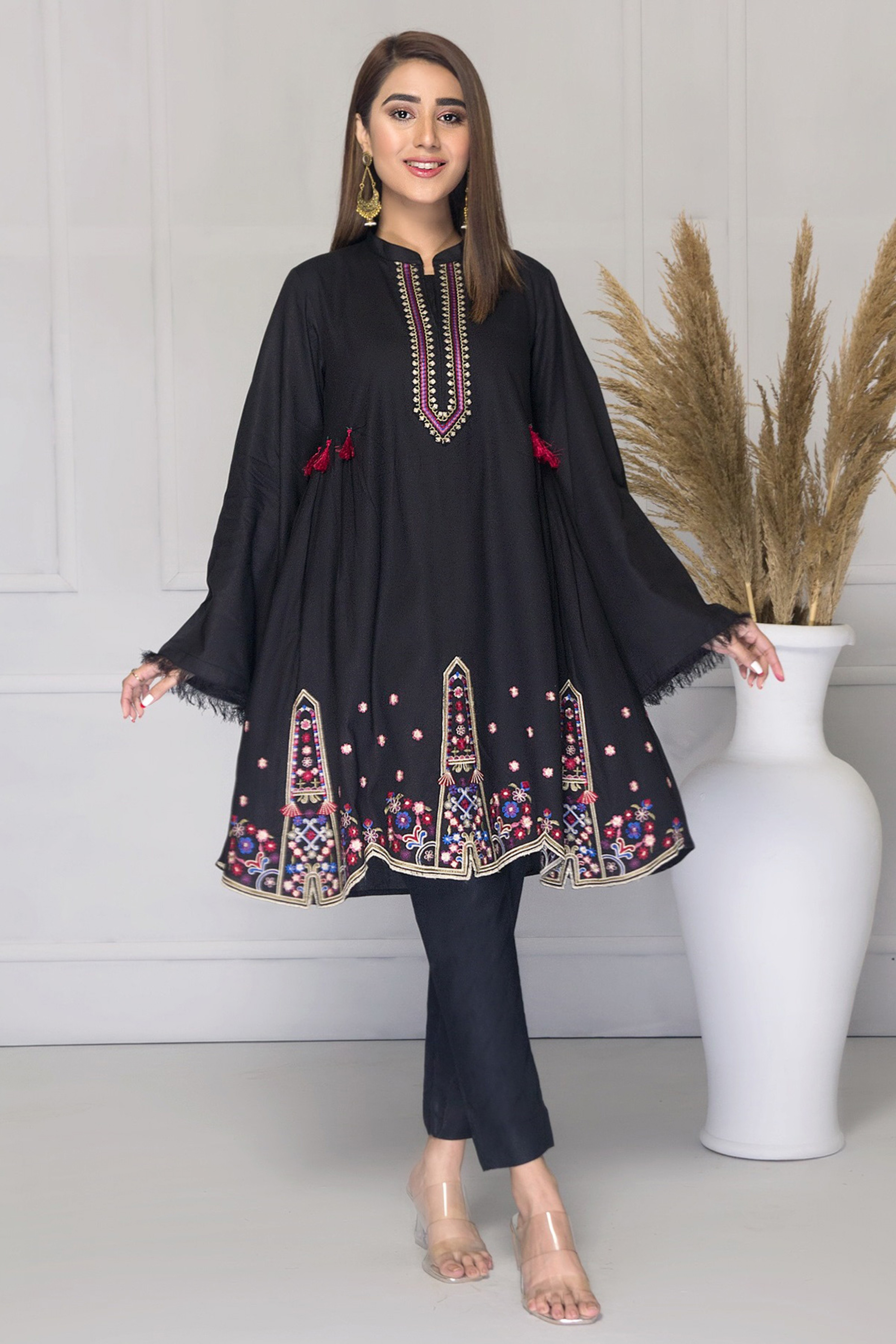 LORENZA(Embroidered Frock)