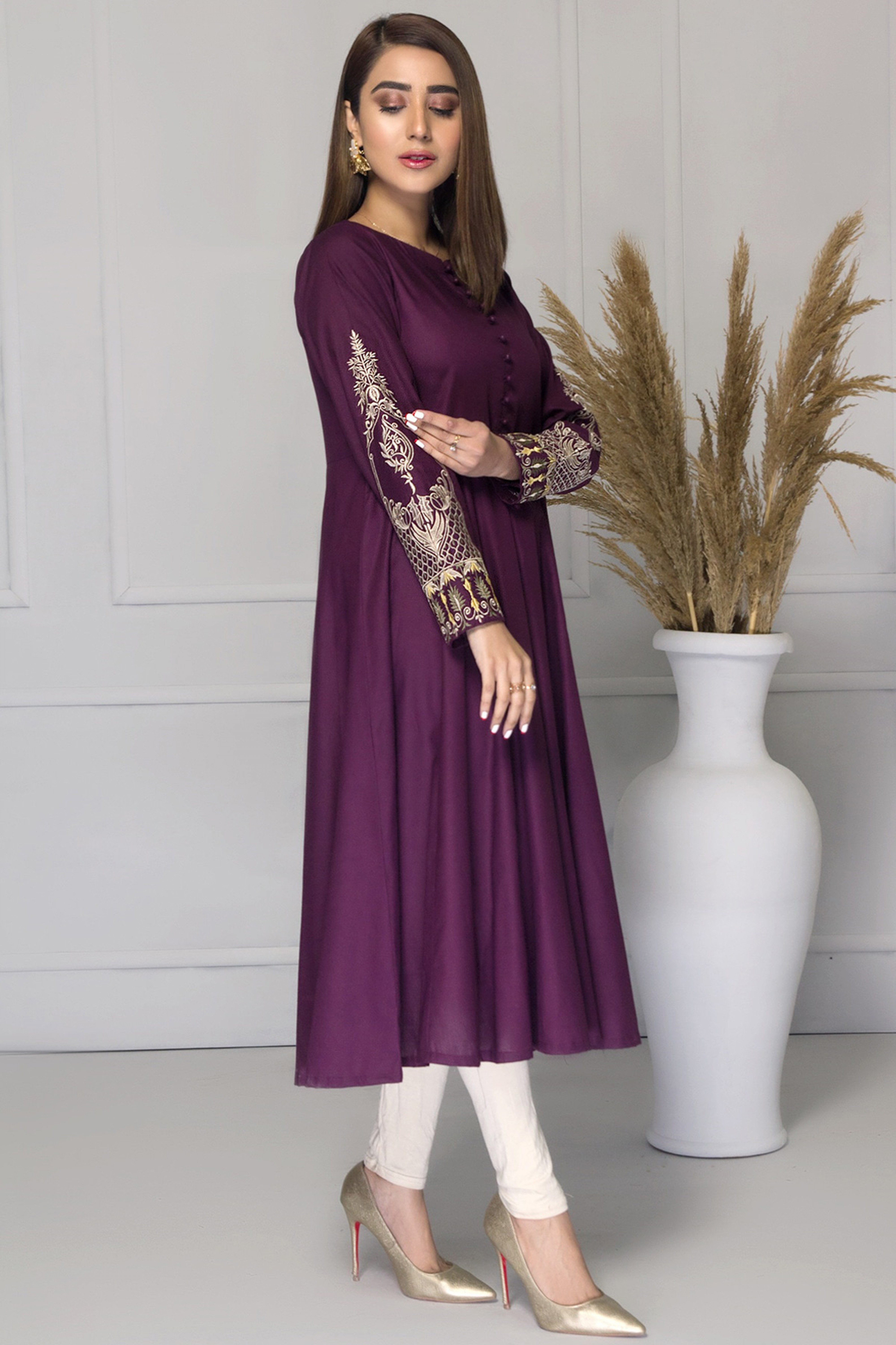NAMIKA(Embroidered Frock)