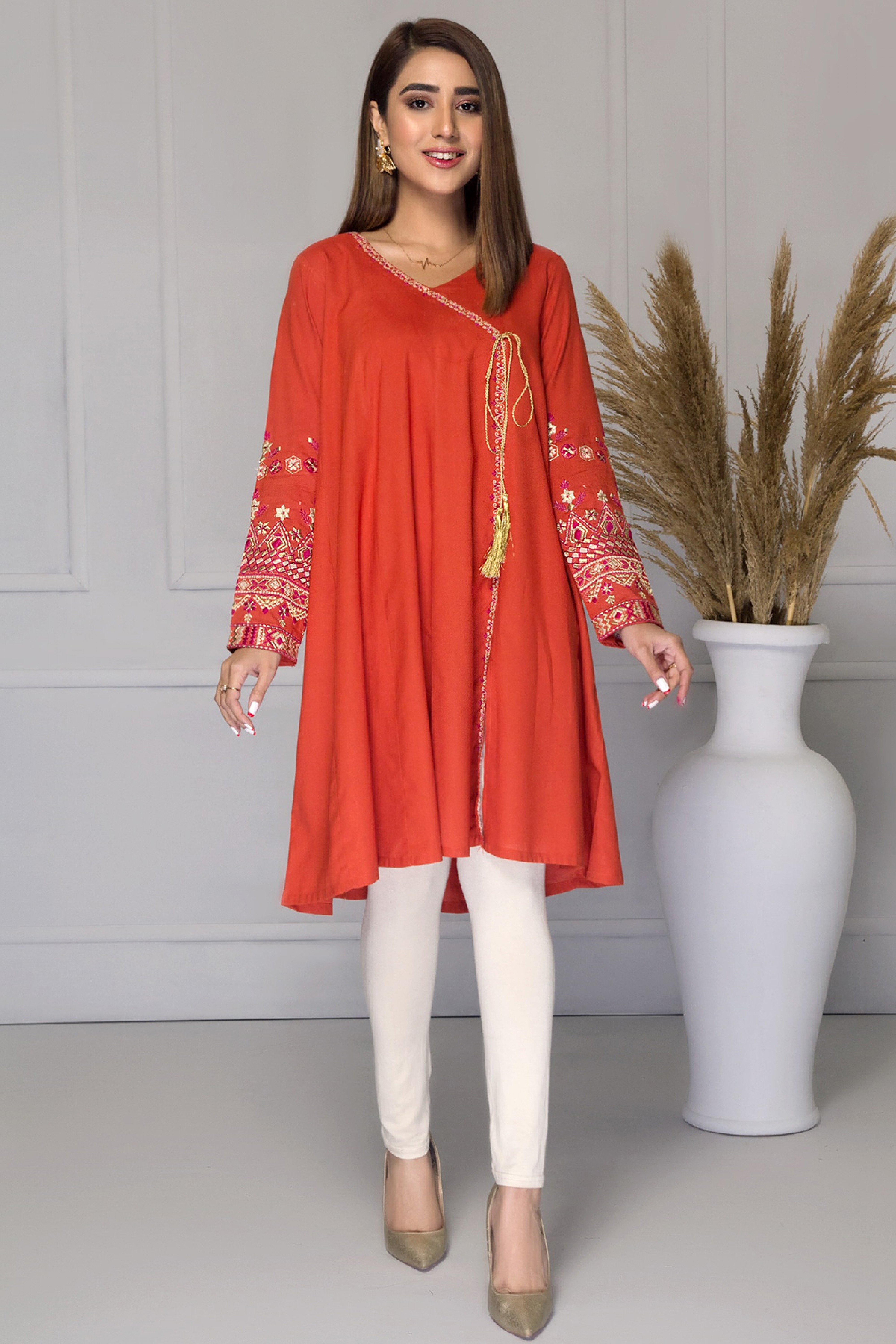 CARNELIAN(Embroidered Frock)