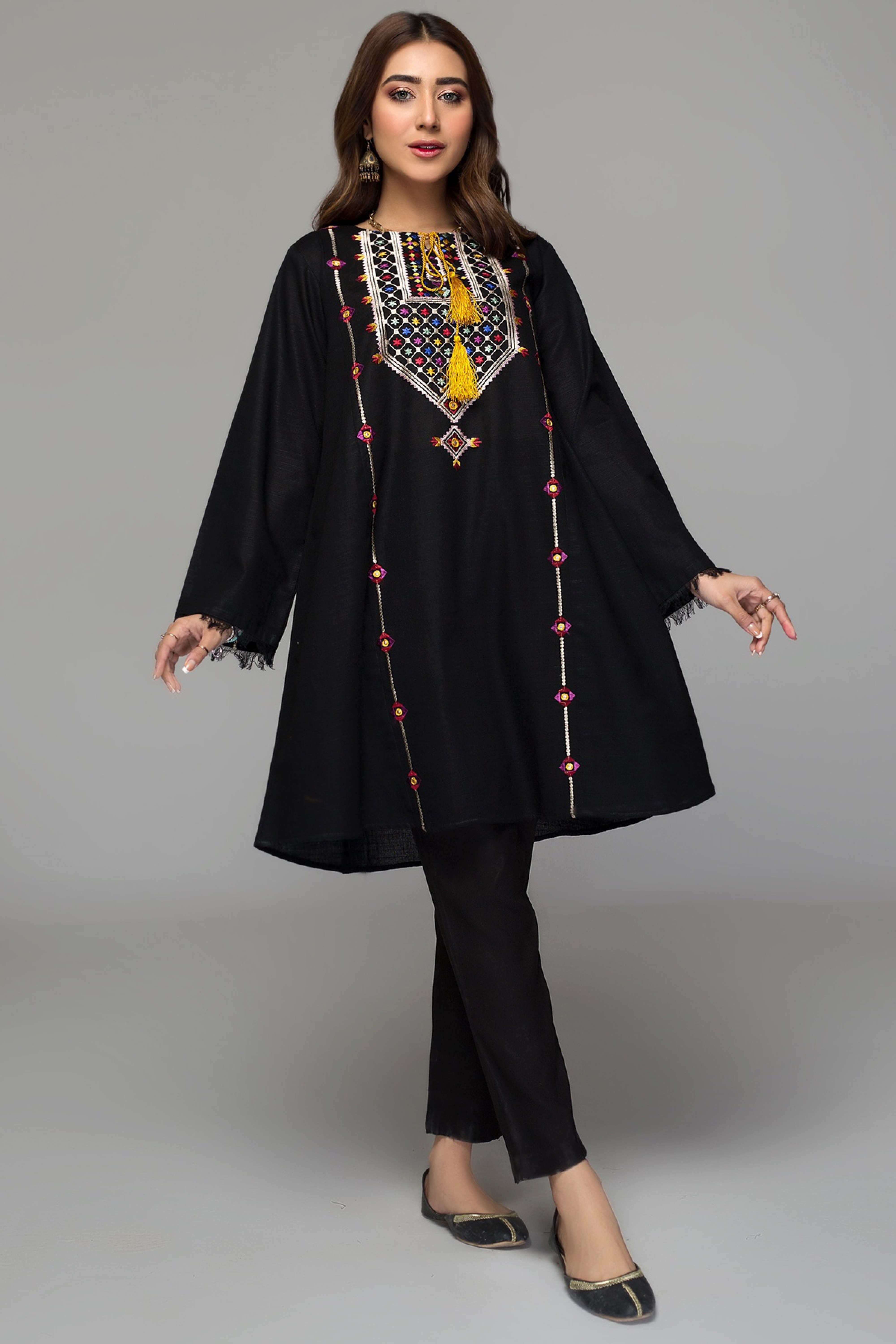 GLORIOSA(Embroidered Frock)