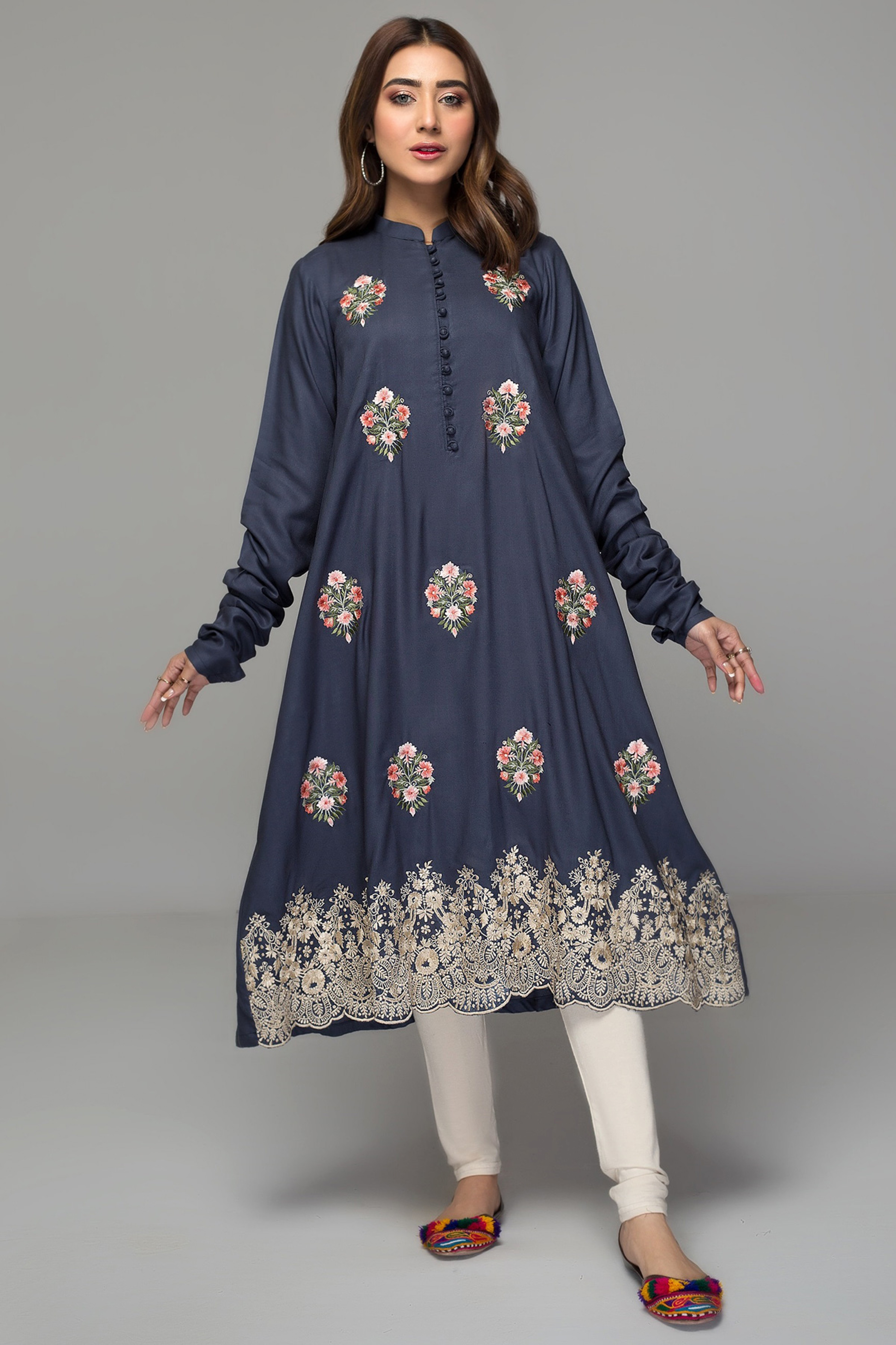 CHESTNUT(Embroidered Frock)