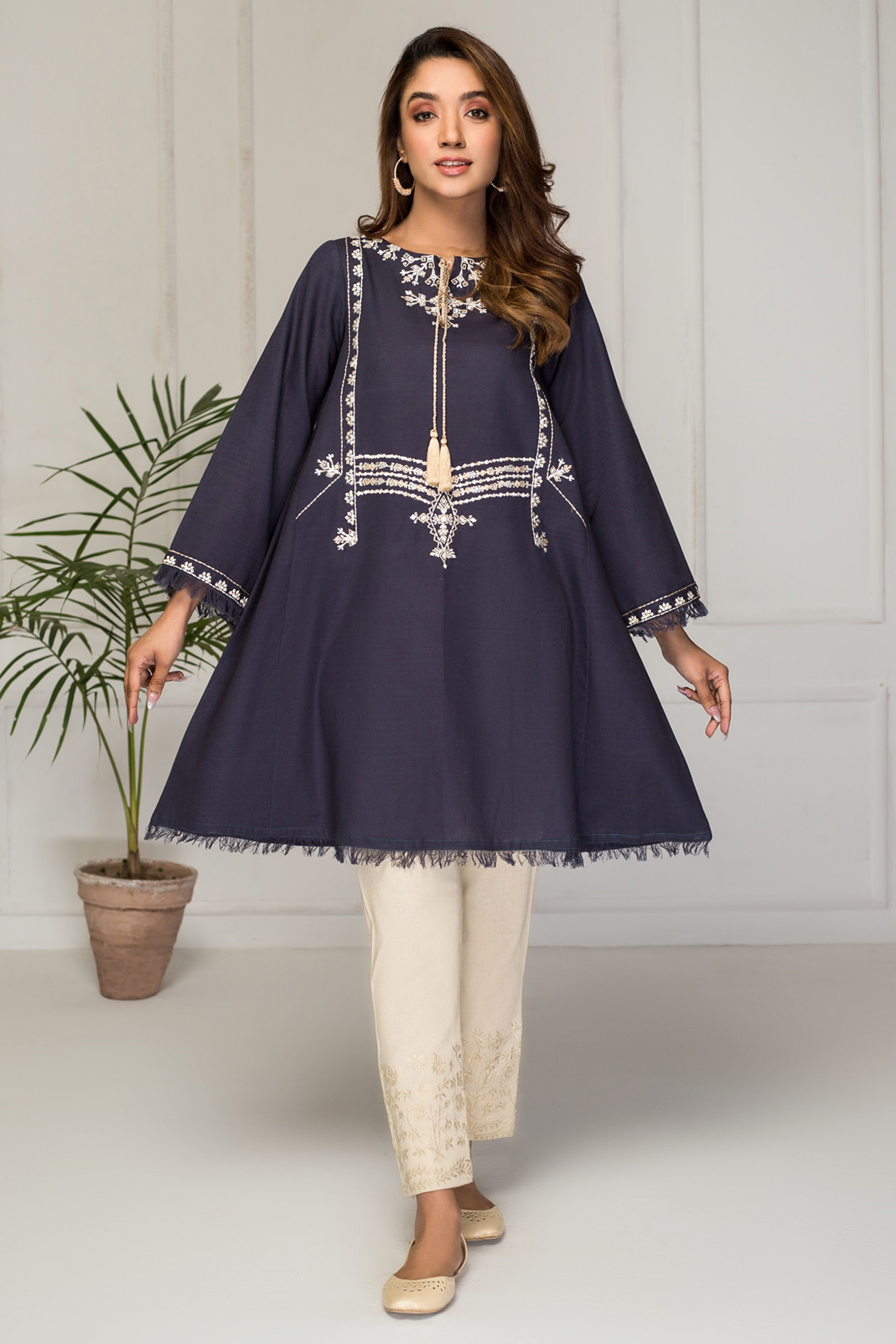 SWEET MAPLE(Embroidered Frock)