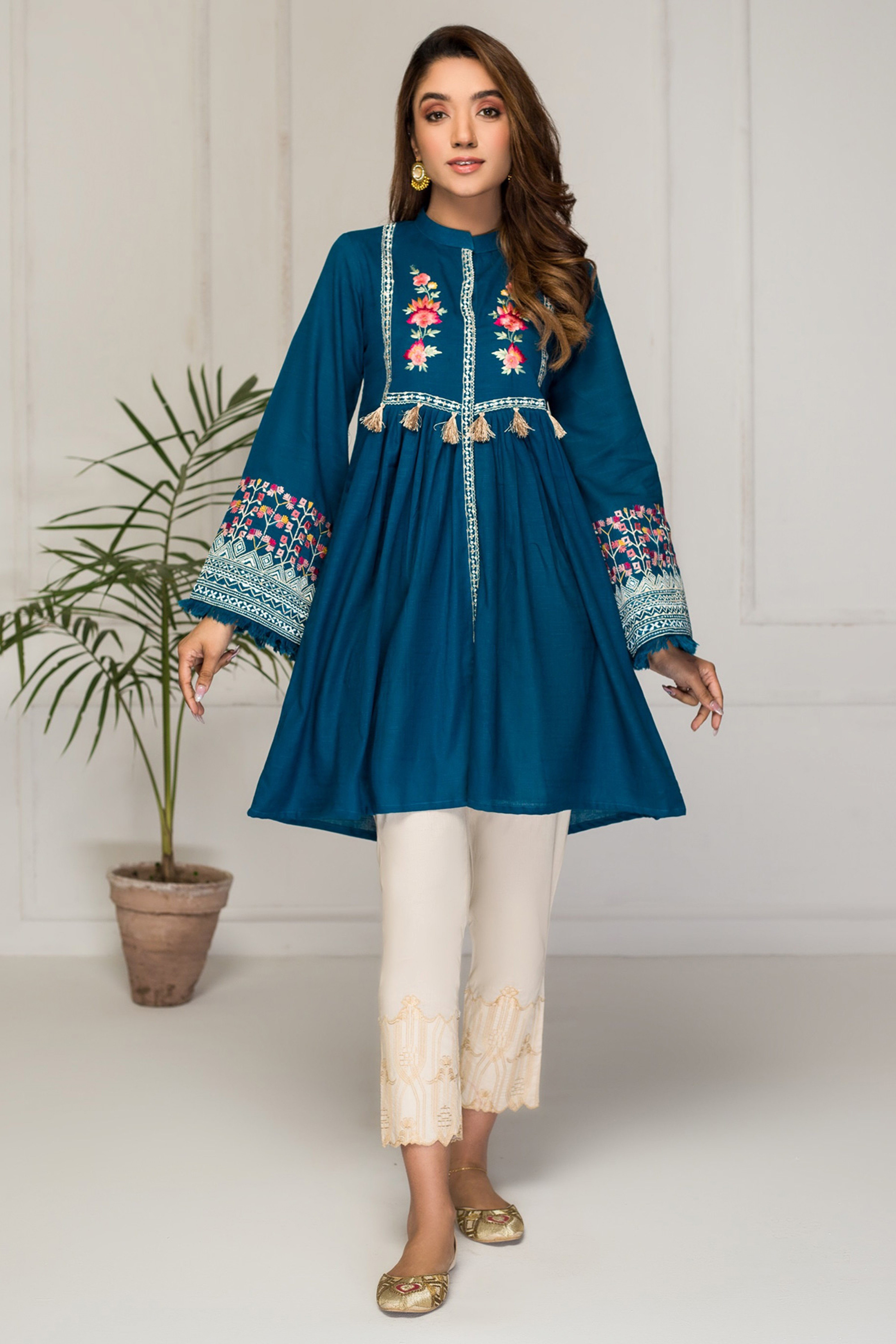 MARINA MIST(Embroidered Frock)