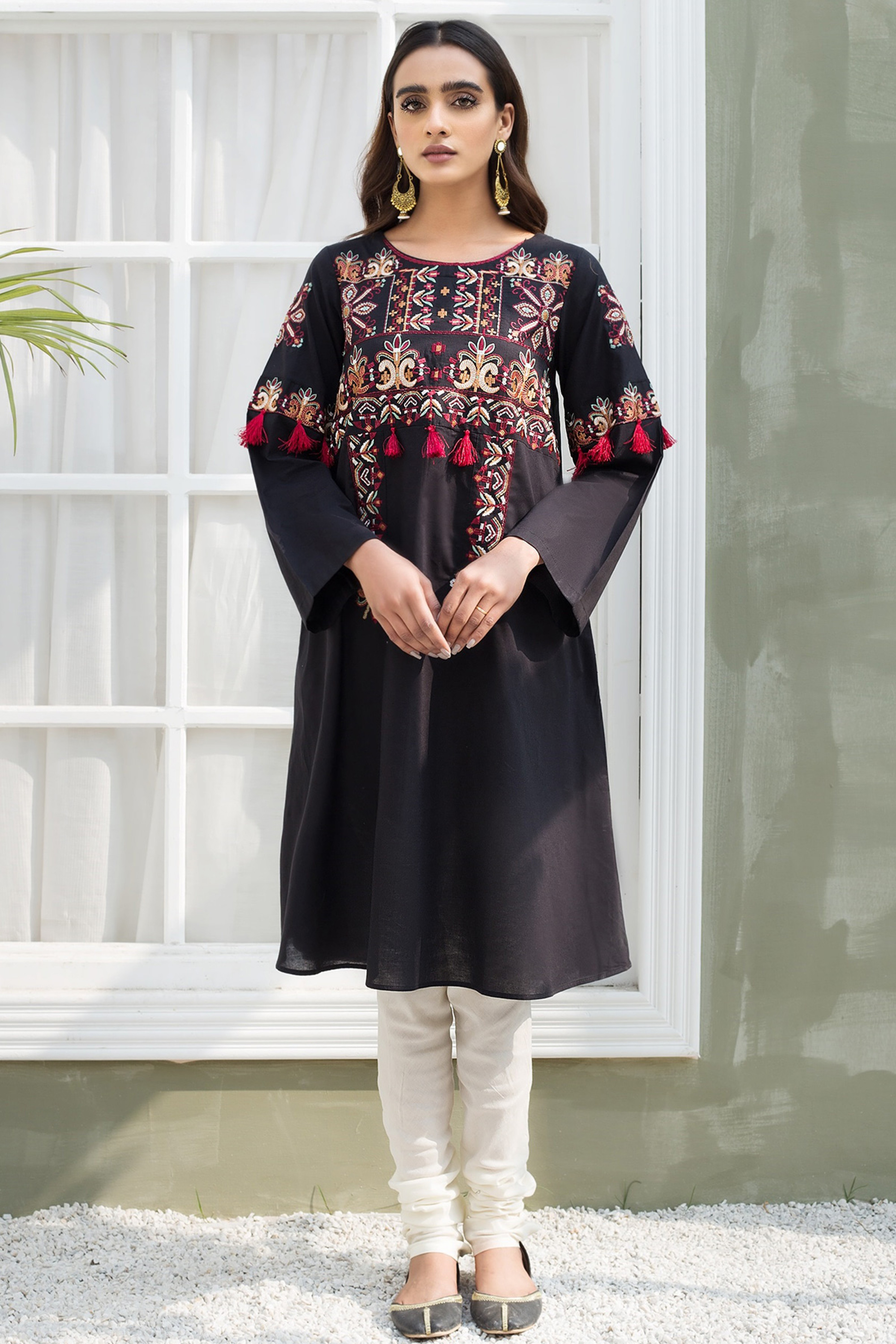 BLOSSOM(Embroidered Frock)