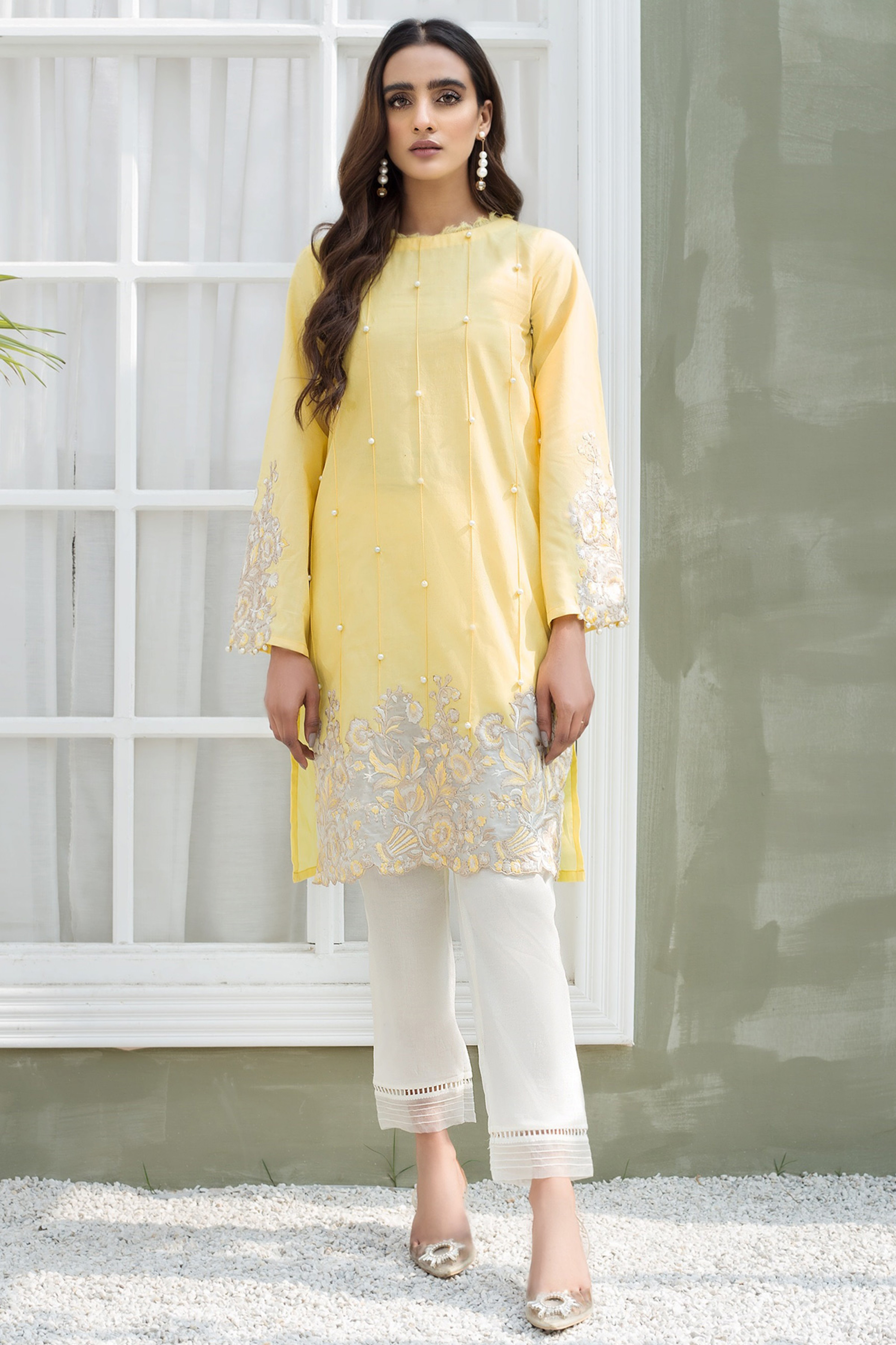 JONQUIL(Embroidered Shirt)