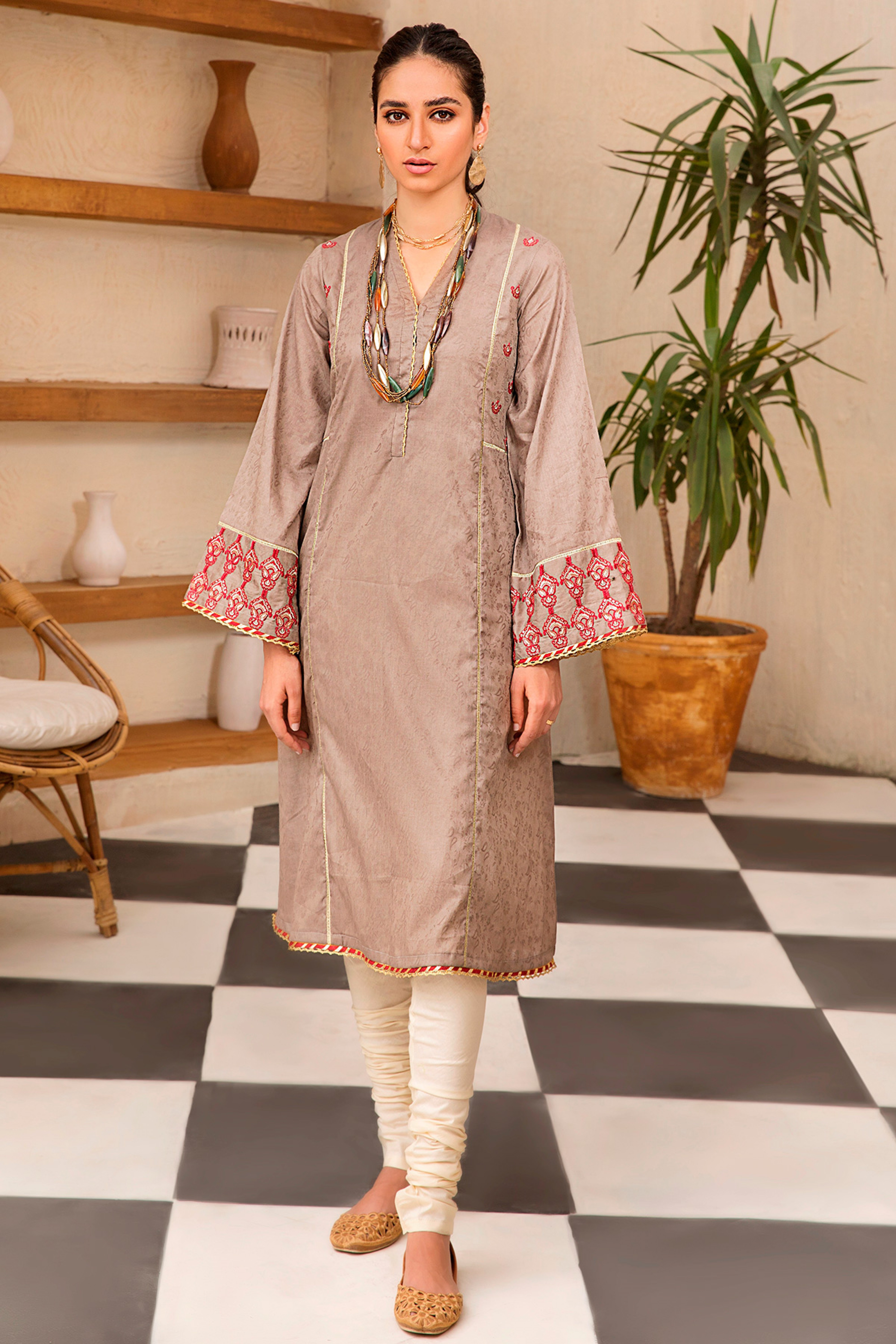 PAOLA(Embroidered Frock)