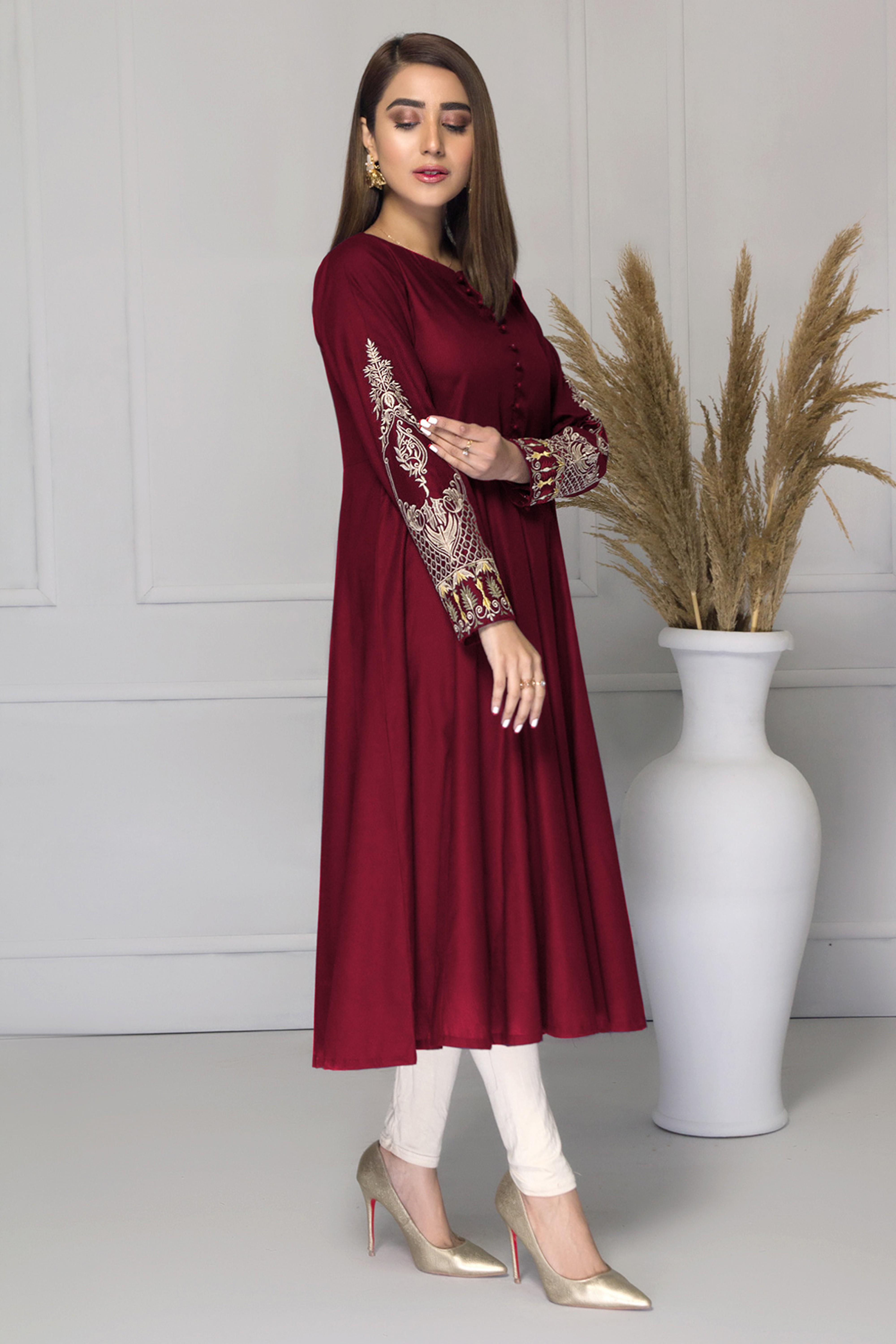 MARIGOLD(Embroidered Frock)