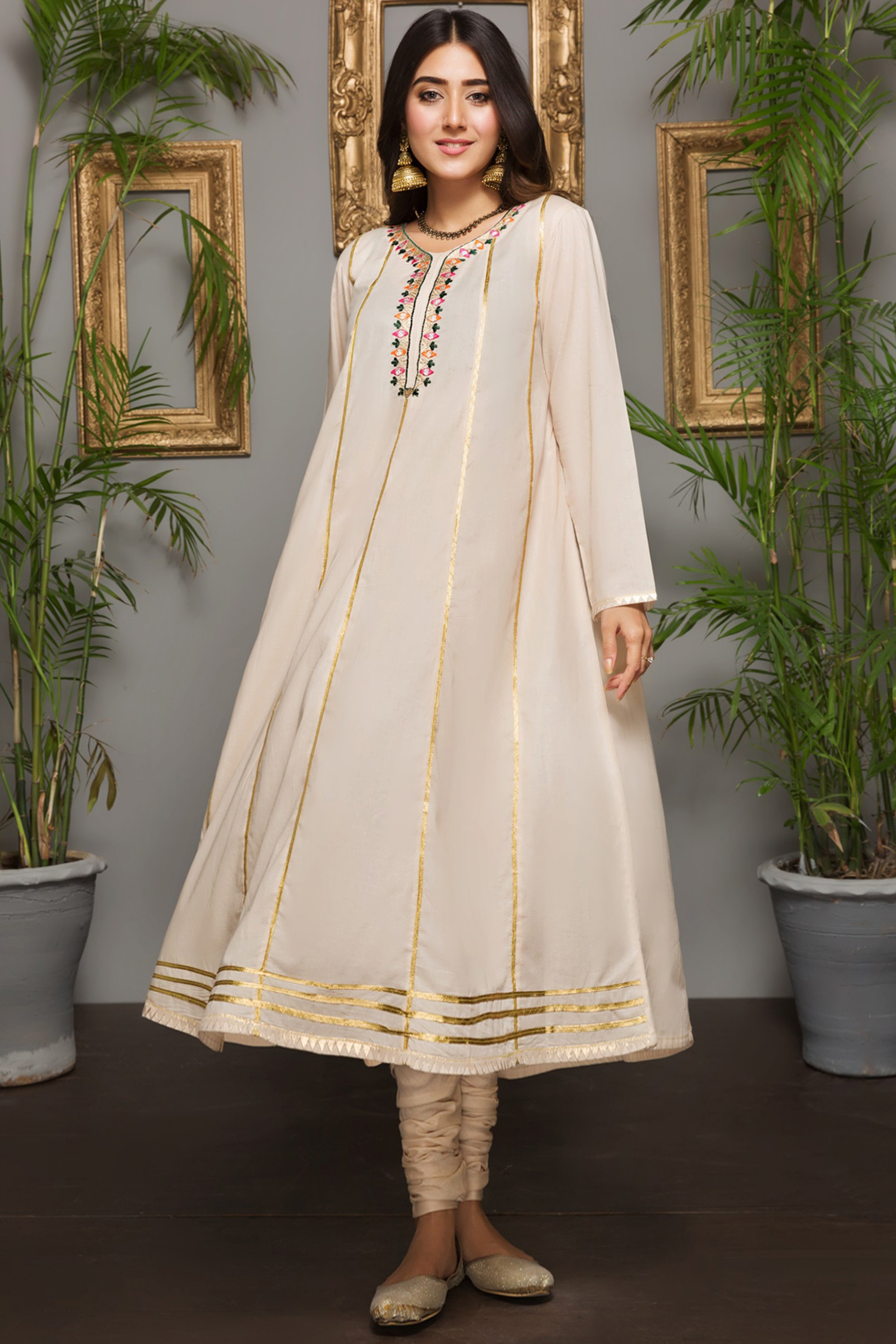 TUBE ROSE (Embroidered Frock)