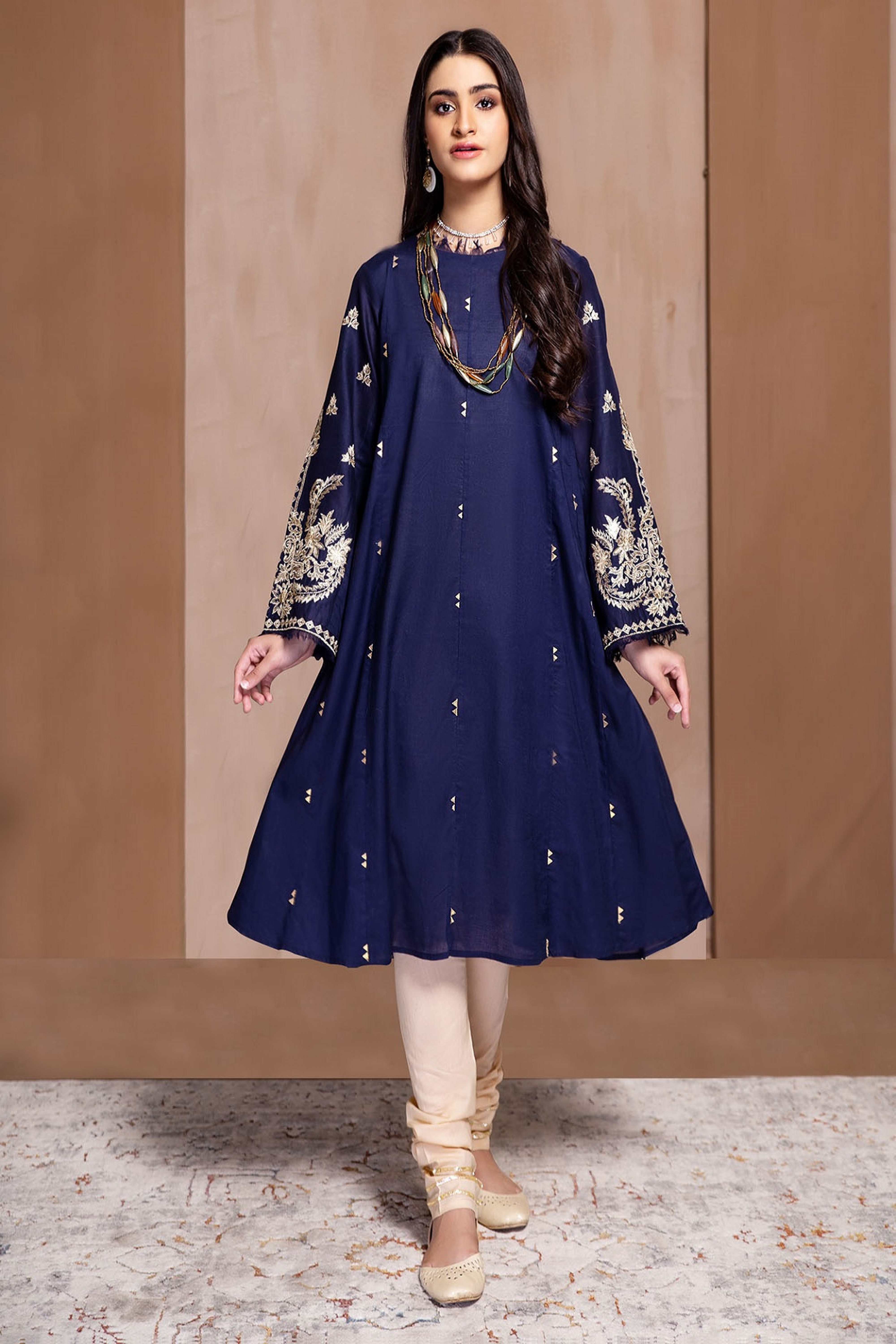AZURITE(Embroidered Frock)