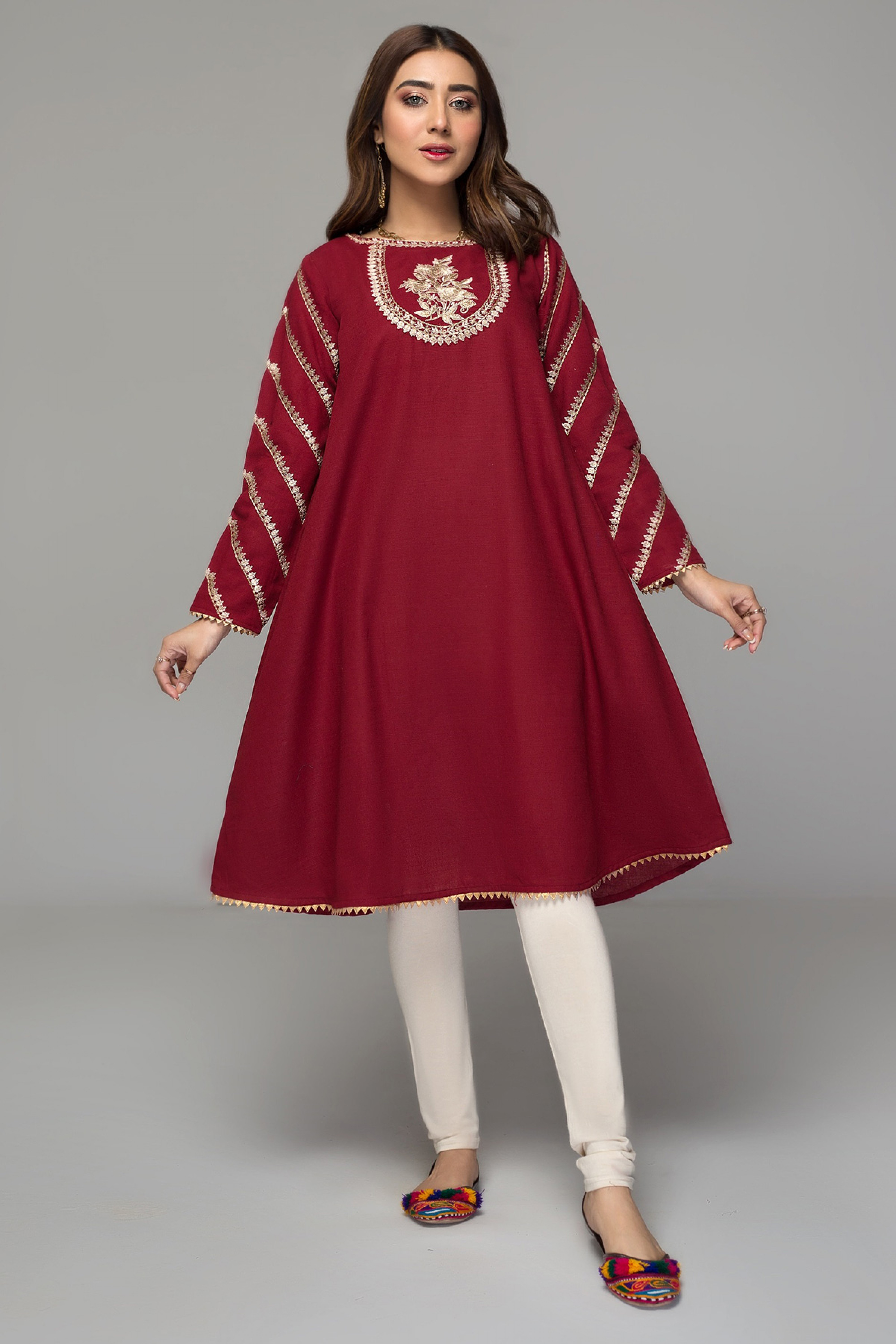 IXORA(Embroidered Frock)