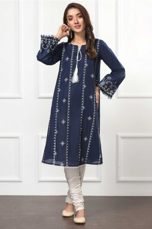 BLUE BELL (Embroidered Frock)